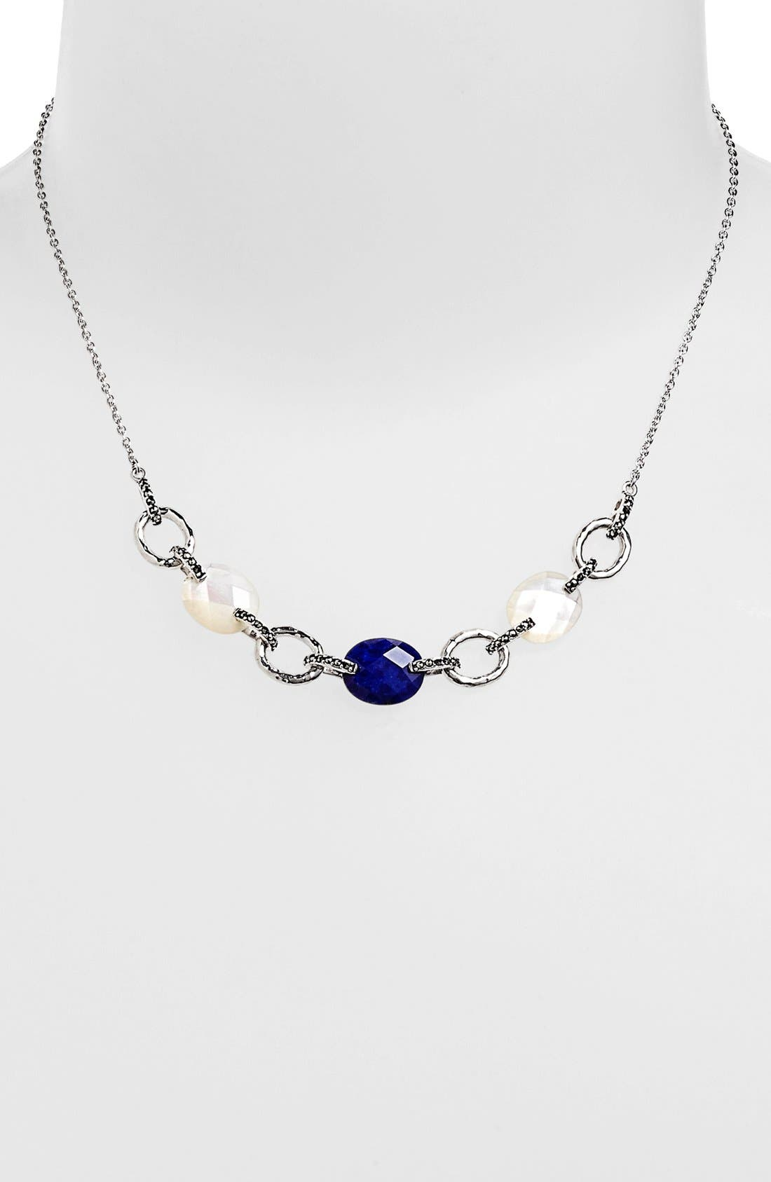 Alternate Image 1 Selected - Judith Jack 'Blue Sky' Multi Stone Frontal Necklace