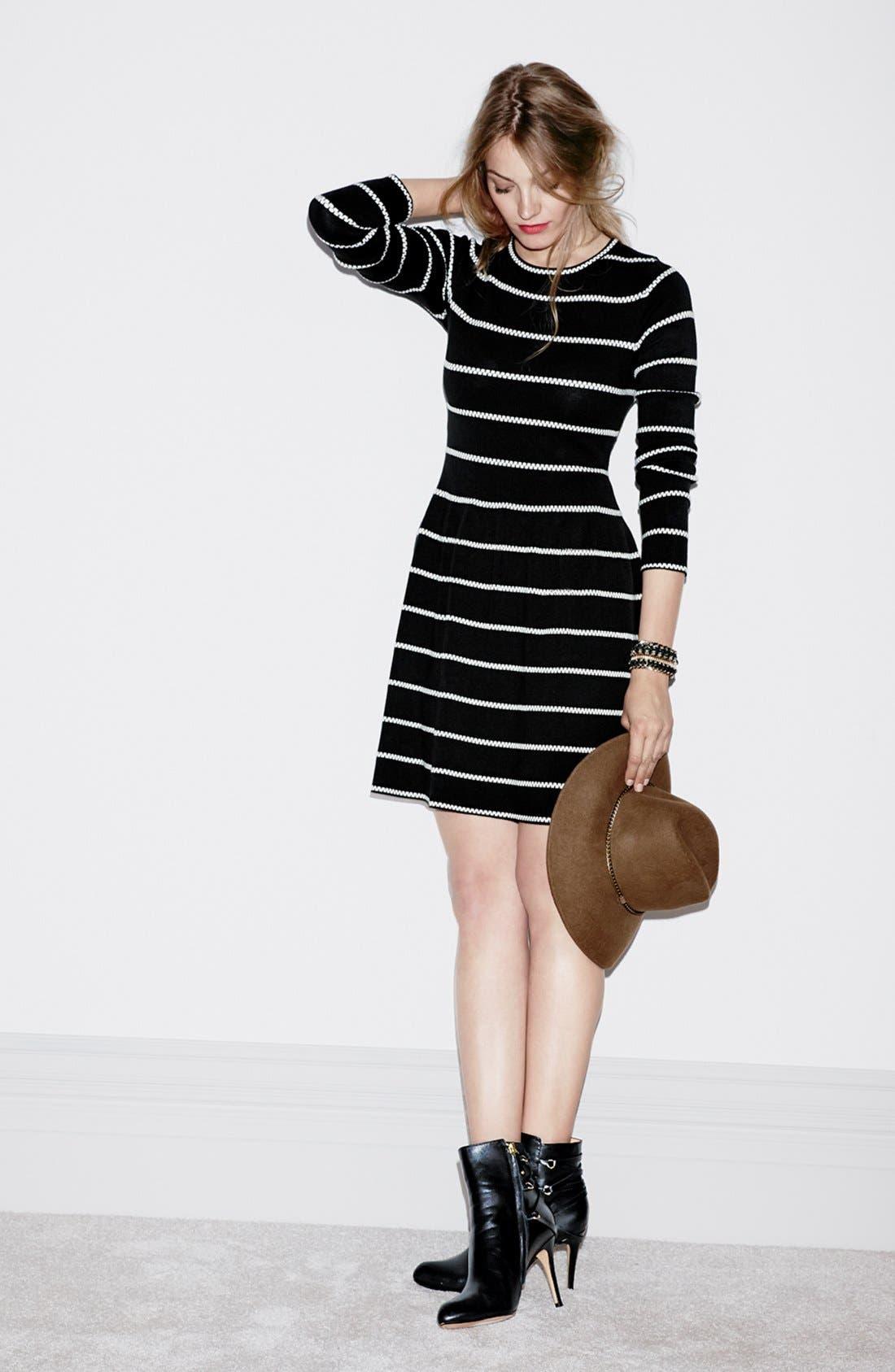 Alternate Image 5  - Eliza J Knit Fit & Flare Dress