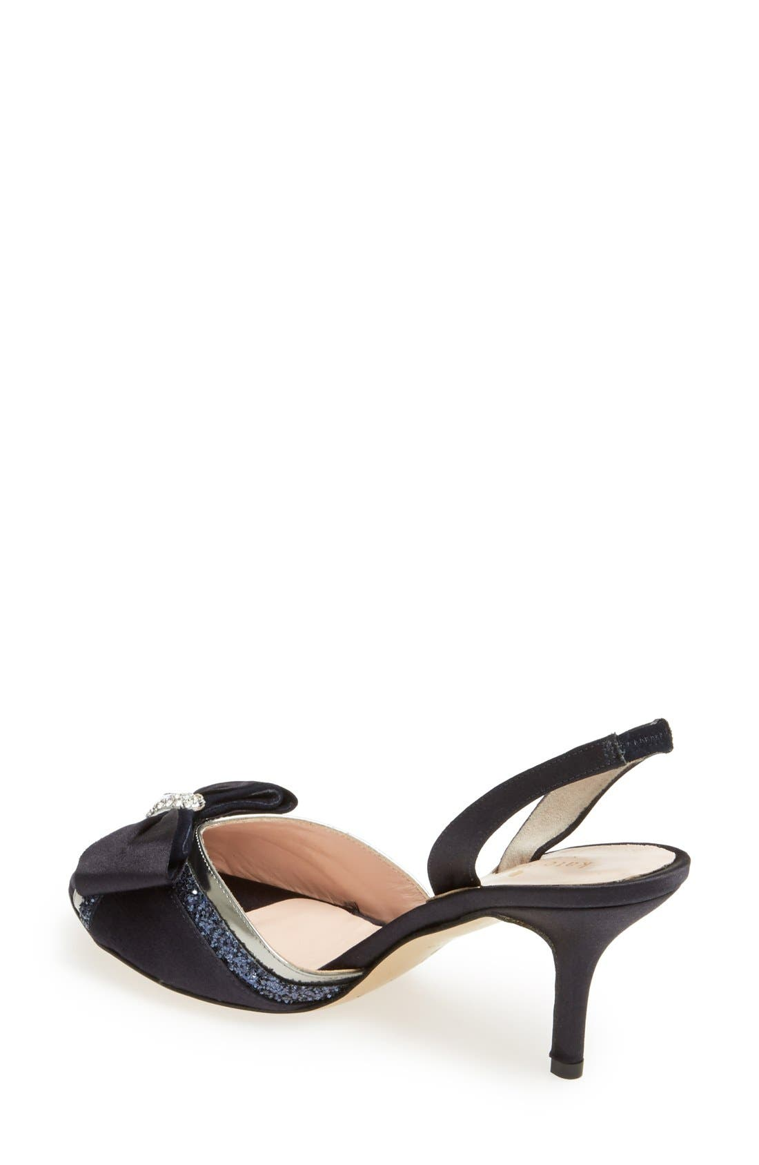 Alternate Image 2  - kate spade new york 'solar' satin bow sandal (women)