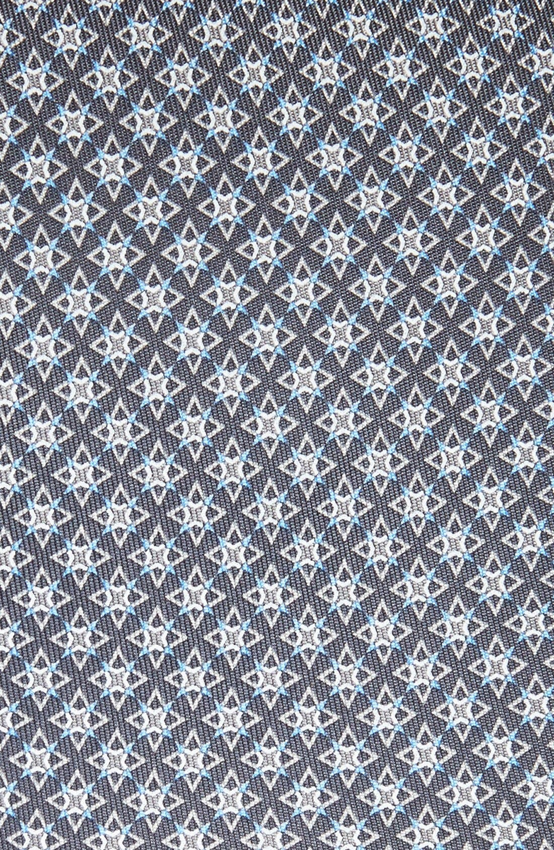 Alternate Image 2  - Salvatore Ferragamo Star Print Silk Tie