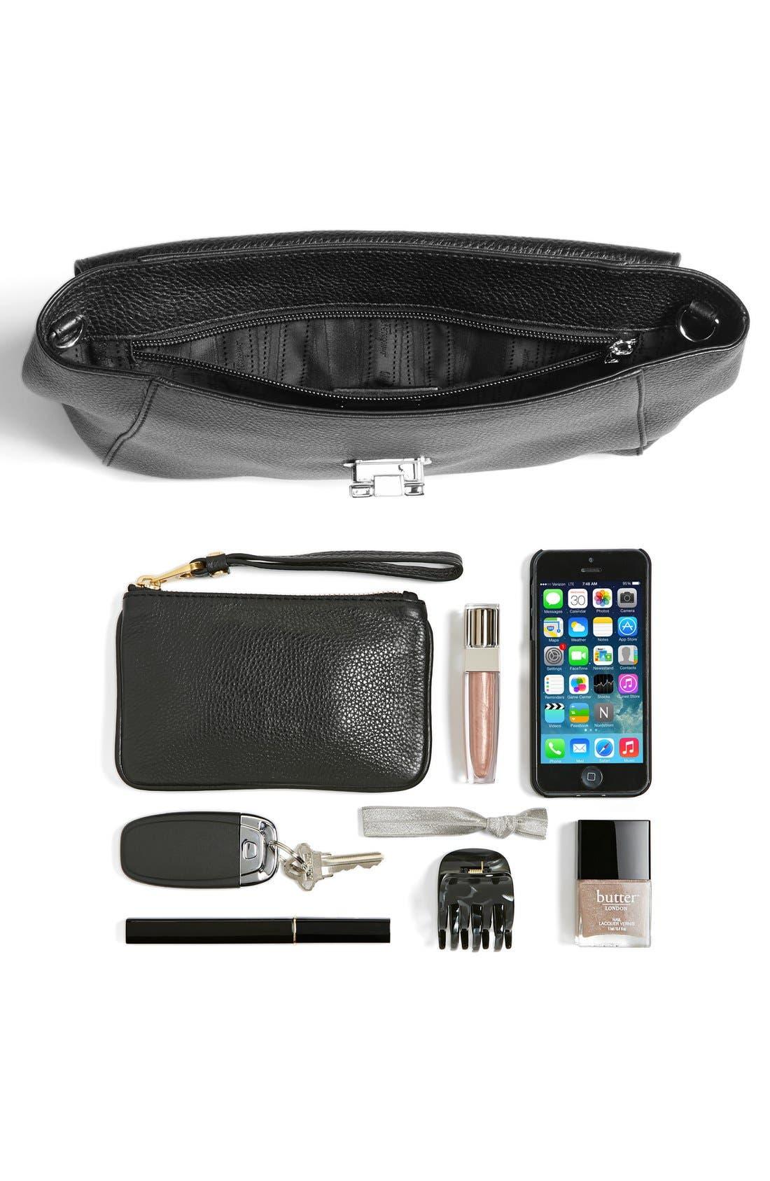 Alternate Image 5  - Salvatore Ferragamo 'Small Abbey' Leather Crossbody Bag