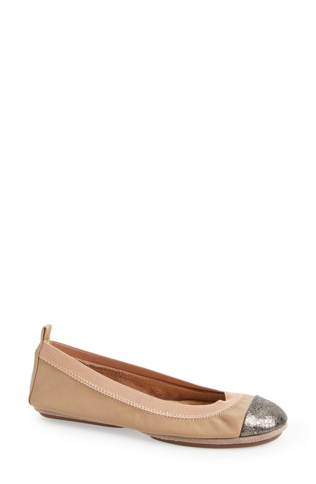 Main Image - Yosi Samra 'Samantha' Foldable Ballet Flat (Women)