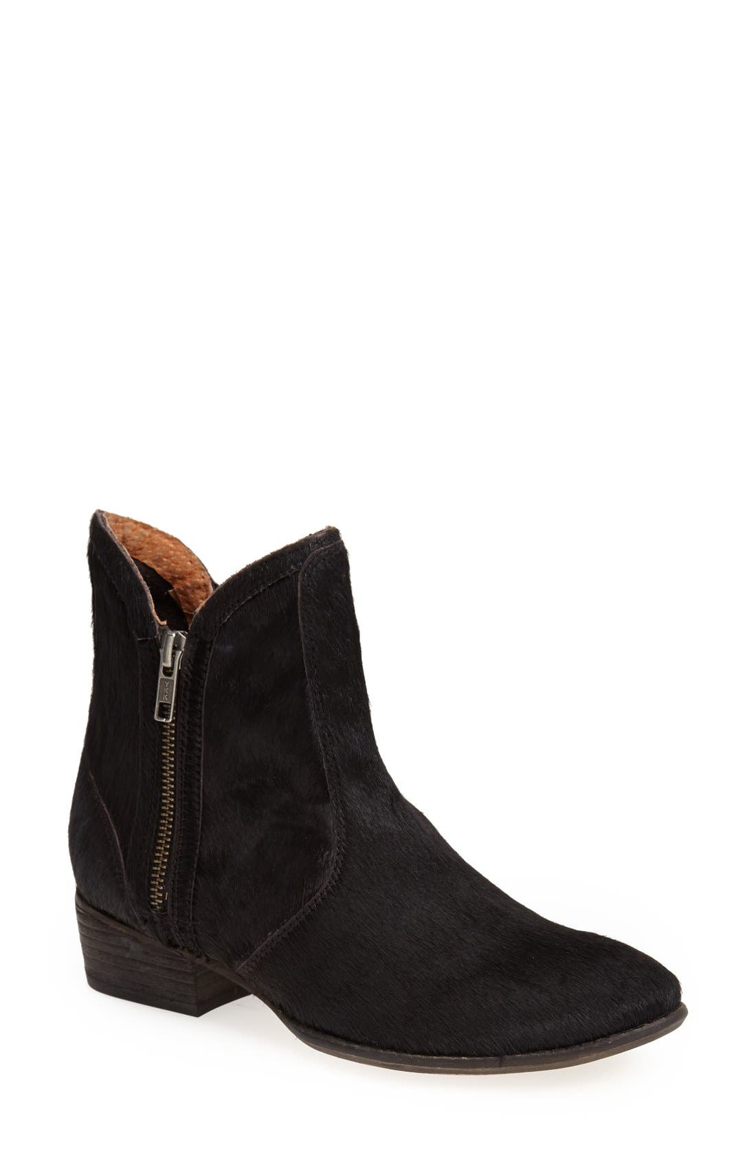 'Lucky Penny' Boot,                         Main,                         color, Black Ponyhair