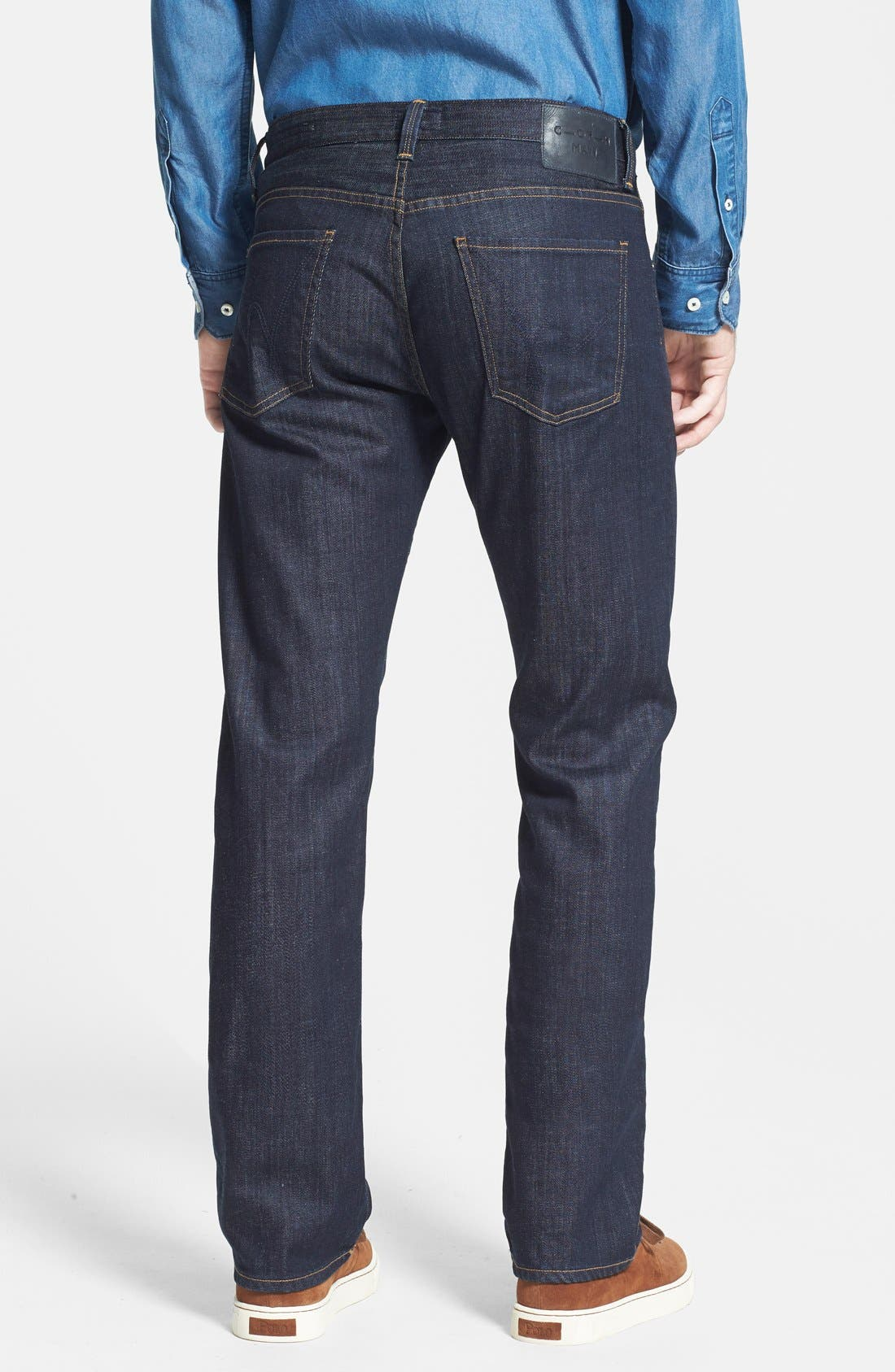 Sid Classic Straight Leg Jeans,                             Alternate thumbnail 2, color,                             Ultimate Wash