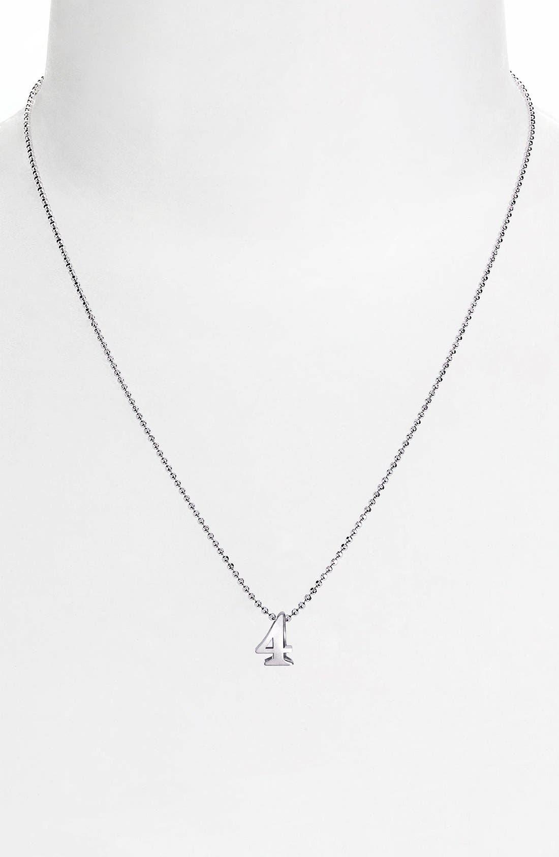 Alternate Image 2  - Alex Woo 'Little Number' Pendant Necklace