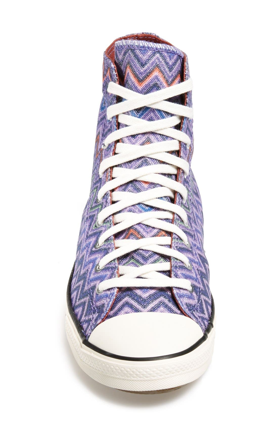Alternate Image 3  - Converse x Missoni Chuck Taylor® All Star® High Top Sneaker (Women)