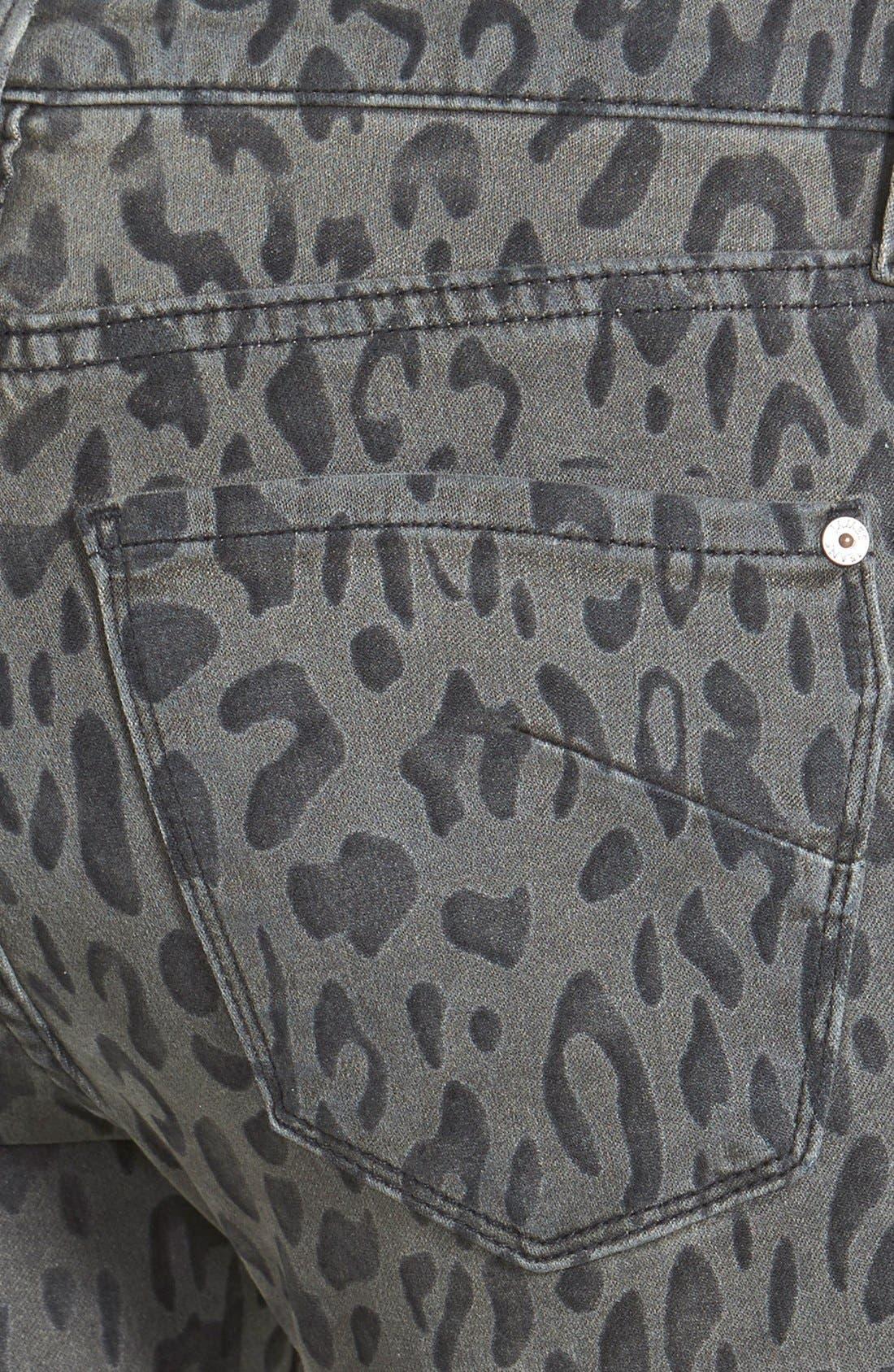 Alternate Image 3  - James Jeans Five Pocket Leggings (Cougar)