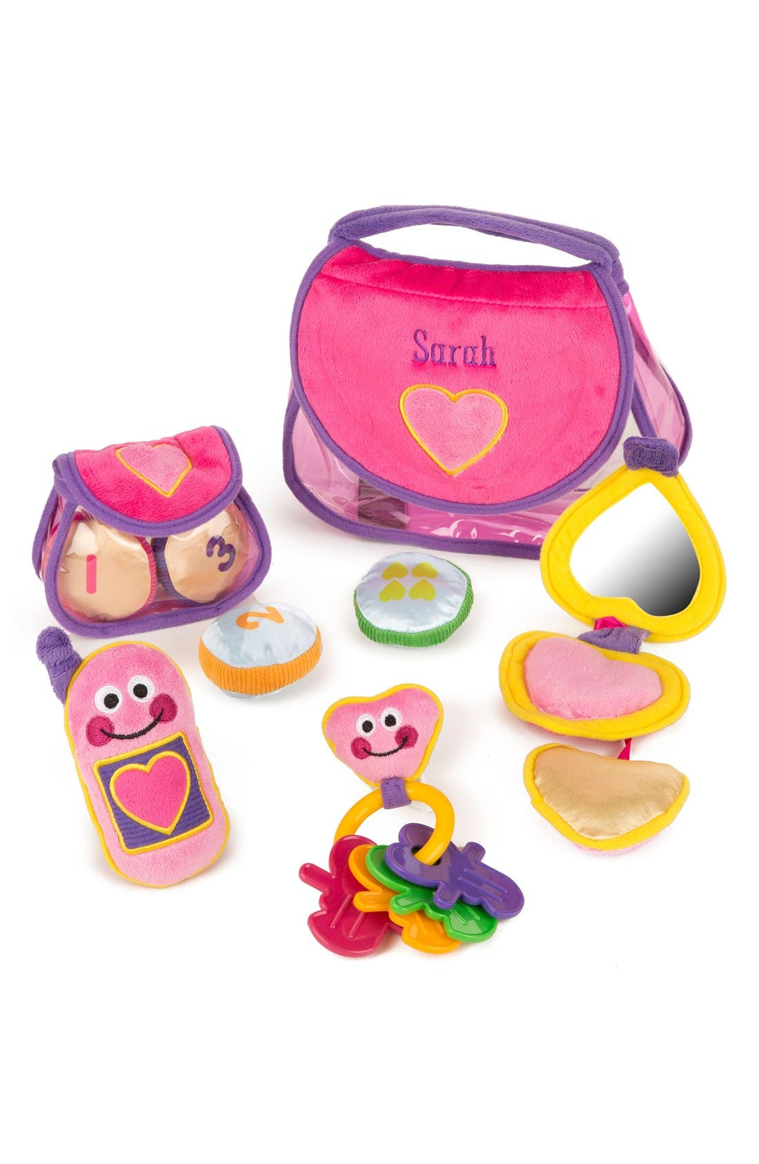 Alternate Image 1 Selected - Melissa & Doug Personalized 'Fill & Spill' Pretty Purse