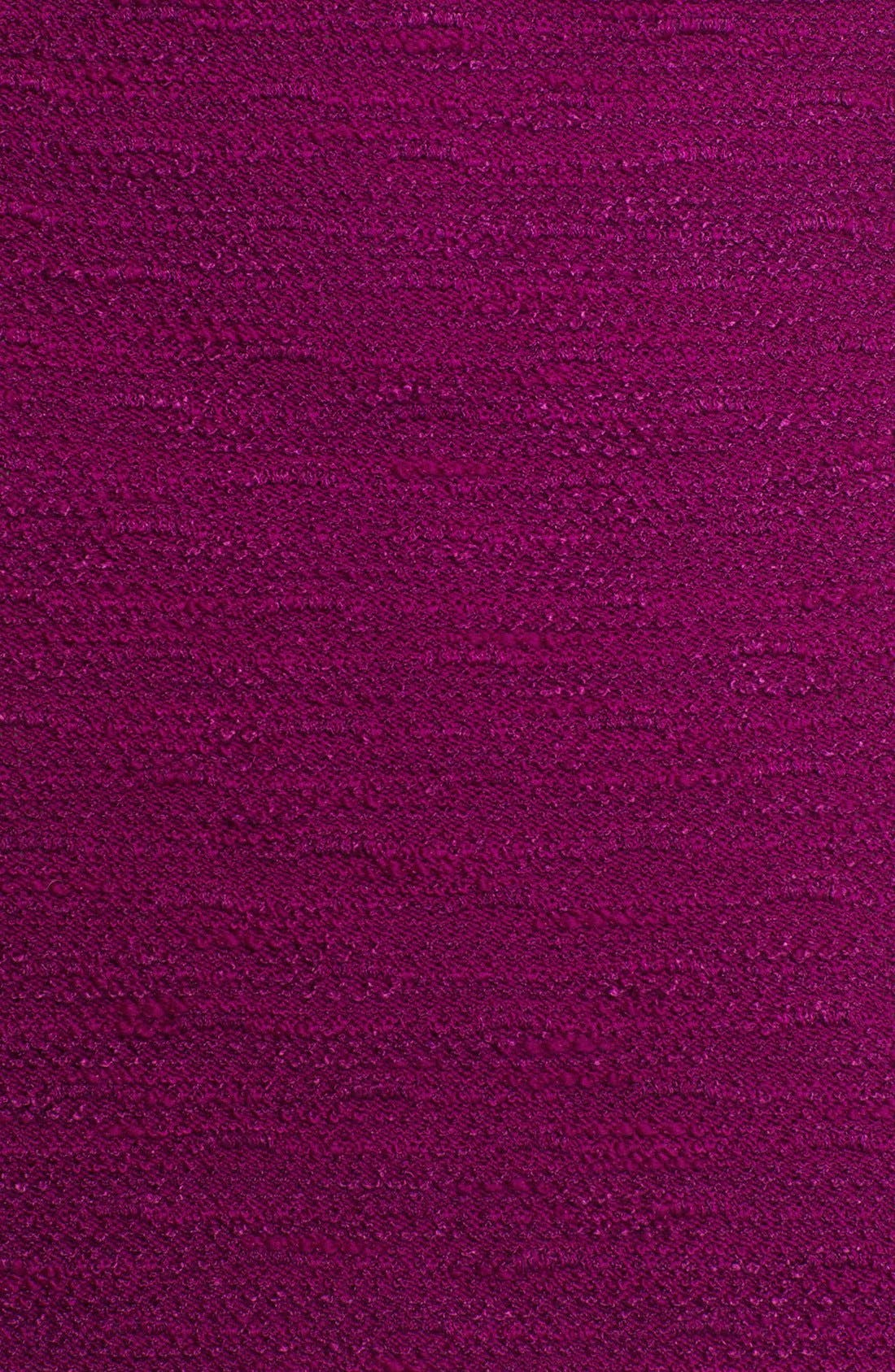 Alternate Image 3  - St. John Collection Liquid Satin & New Shantung Knit Dress (Online Only)