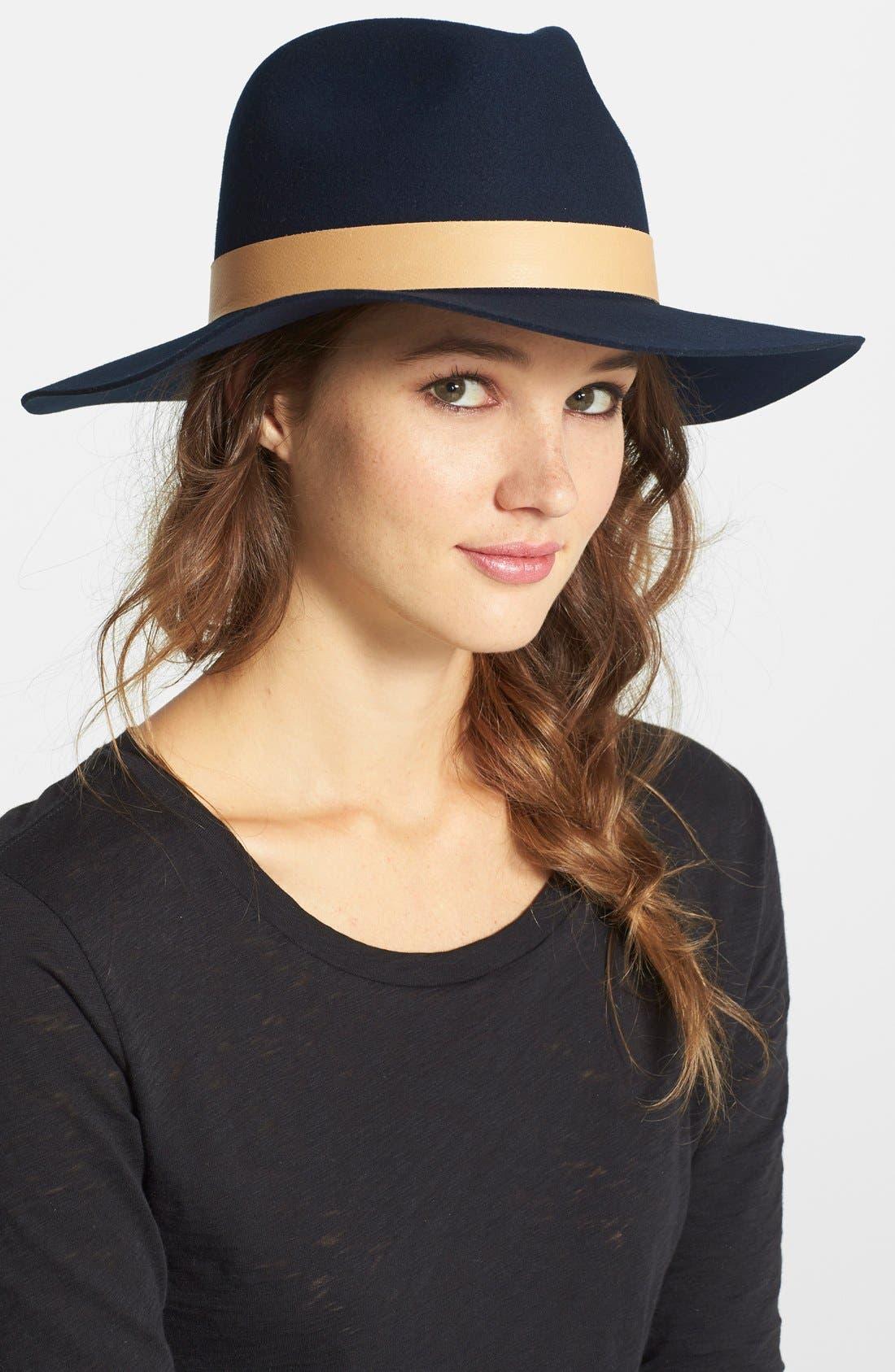 Alternate Image 1 Selected - Janessa Leone 'Amelia' Hat