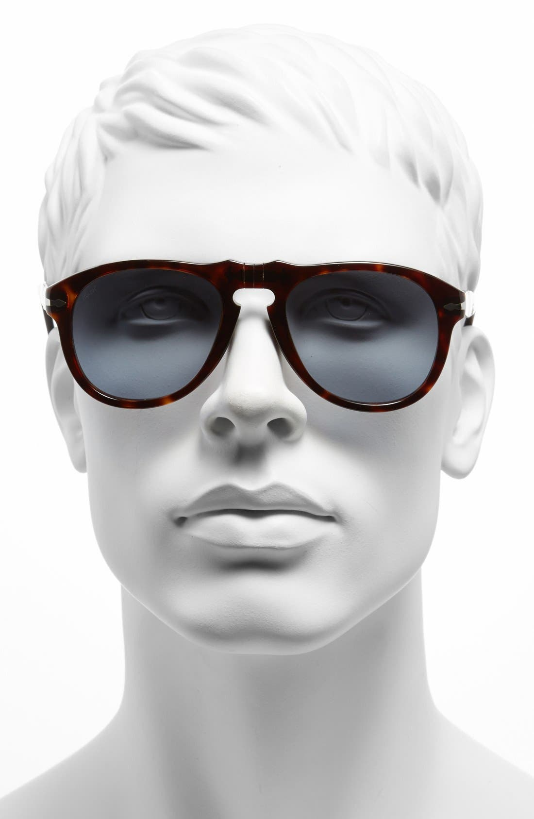Alternate Image 2  - Persol '649' Retro 52mm Keyhole Sunglasses