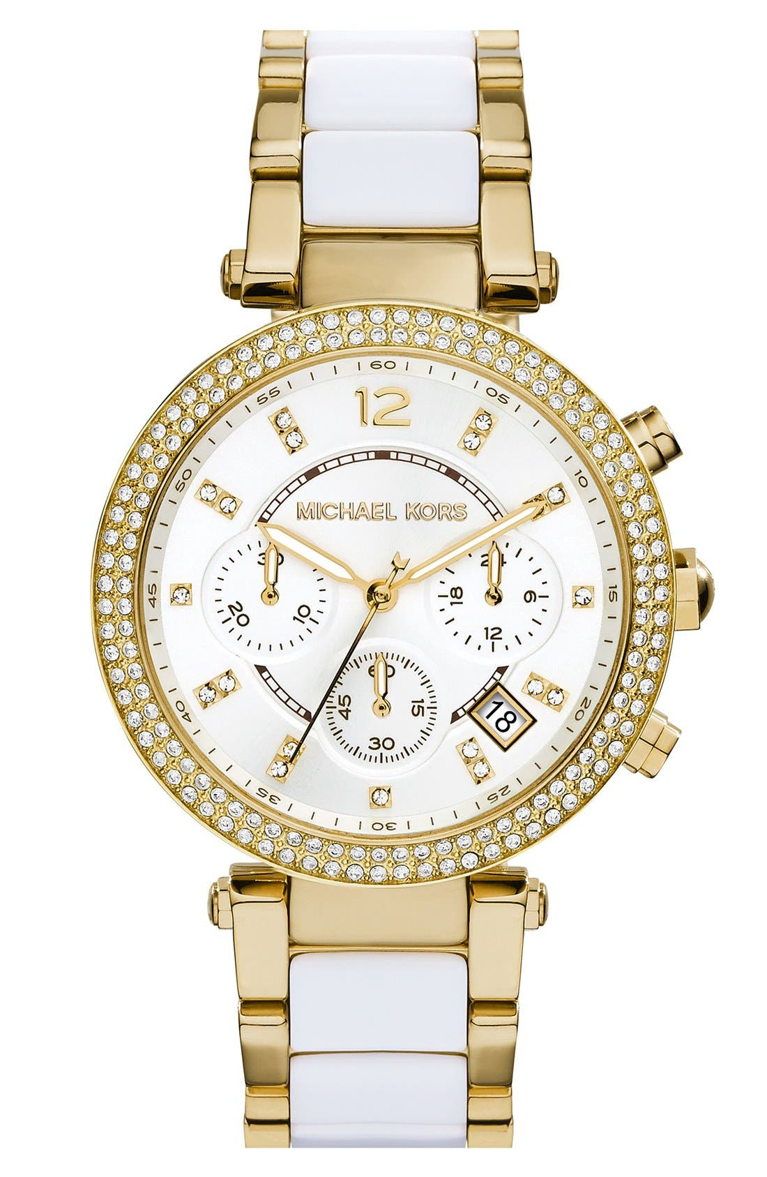 Main Image - Michael Kors 'Parker' Chronograph Watch, 39mm