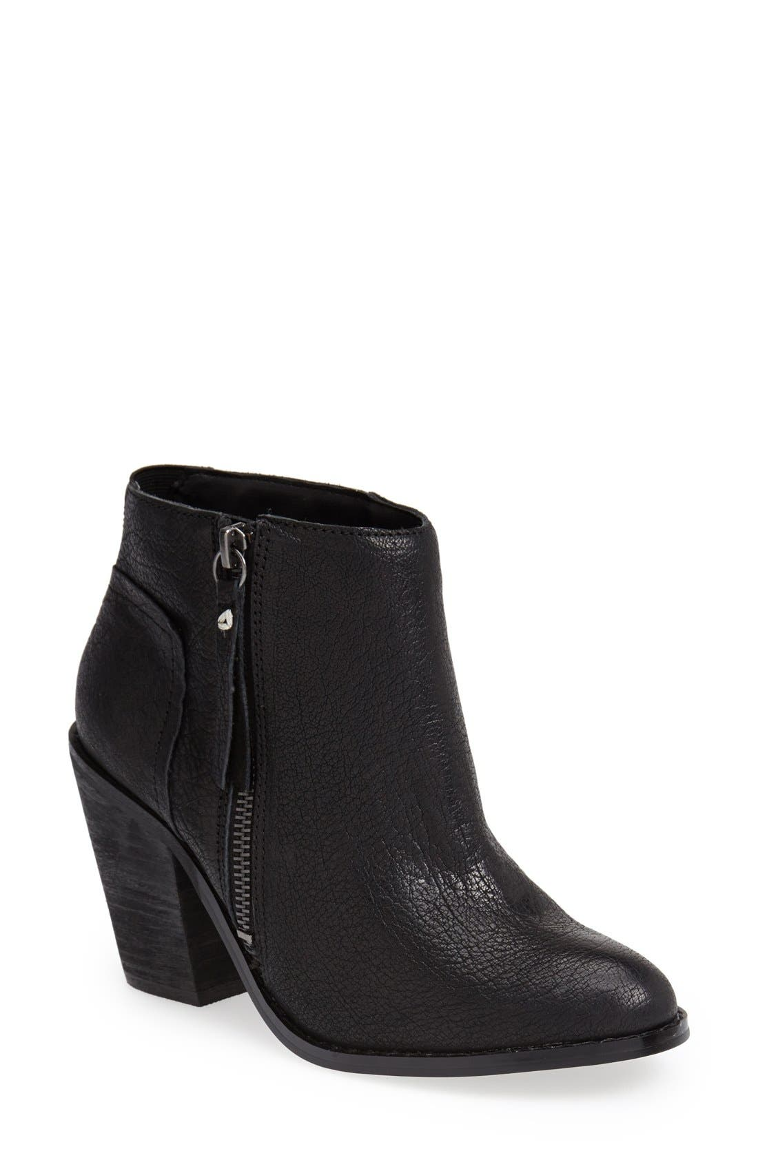 'Jupiter' Bootie,                         Main,                         color, Black