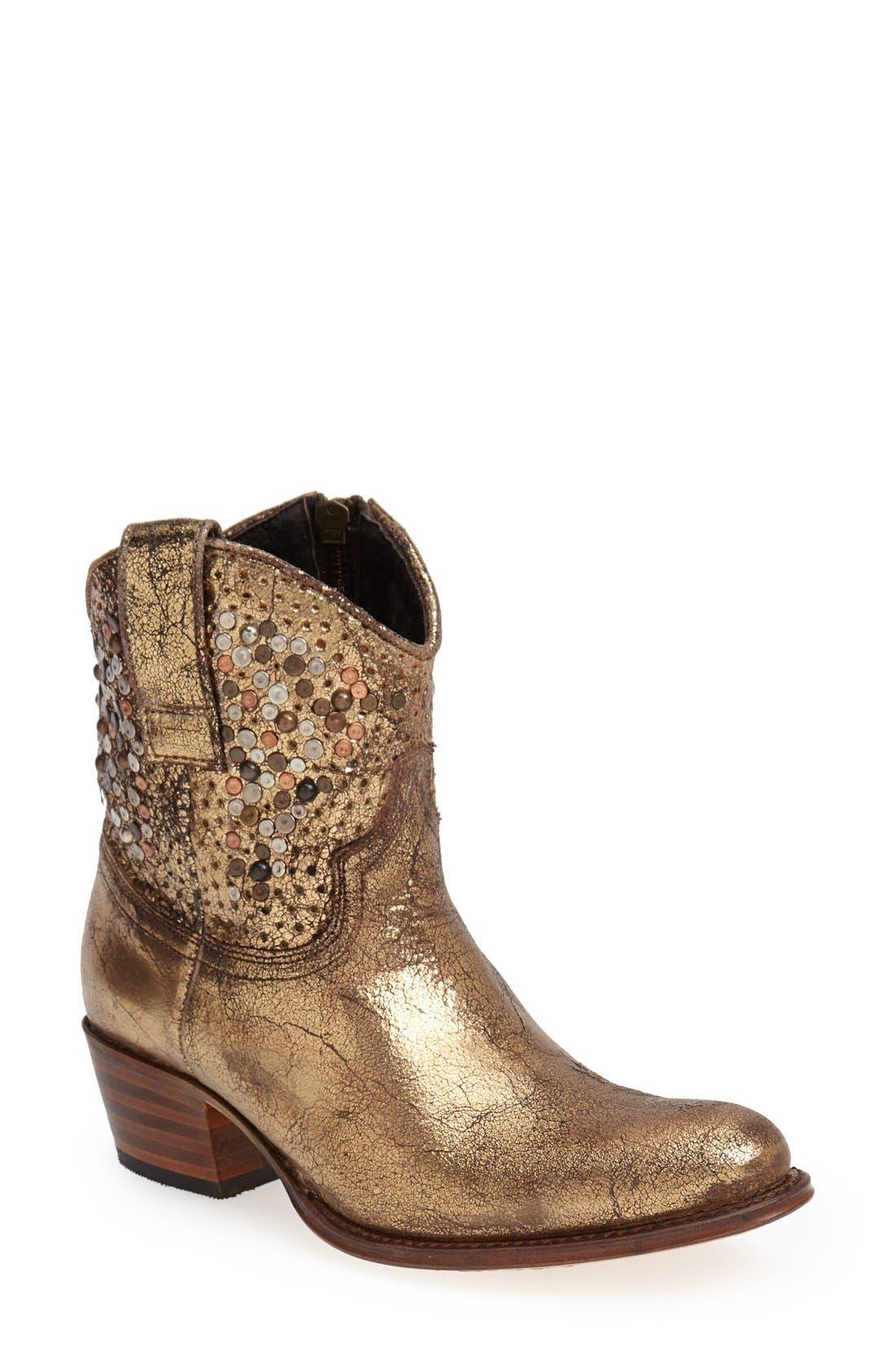 Main Image - Frye 'Deborah' Studded Ankle Boot