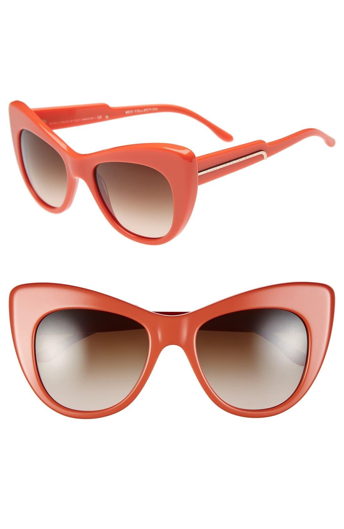 Main Image - Stella McCartney 54mm Cat Eye Sunglasses