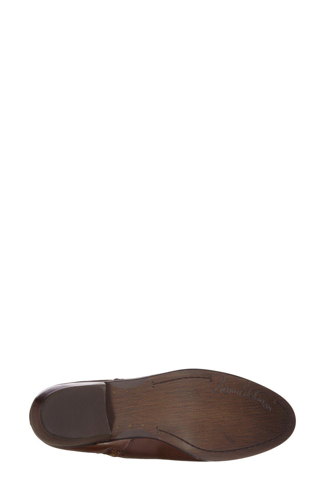 Alternate Image 4  - Sam Edelman 'Peter' Leather Bootie (Women)