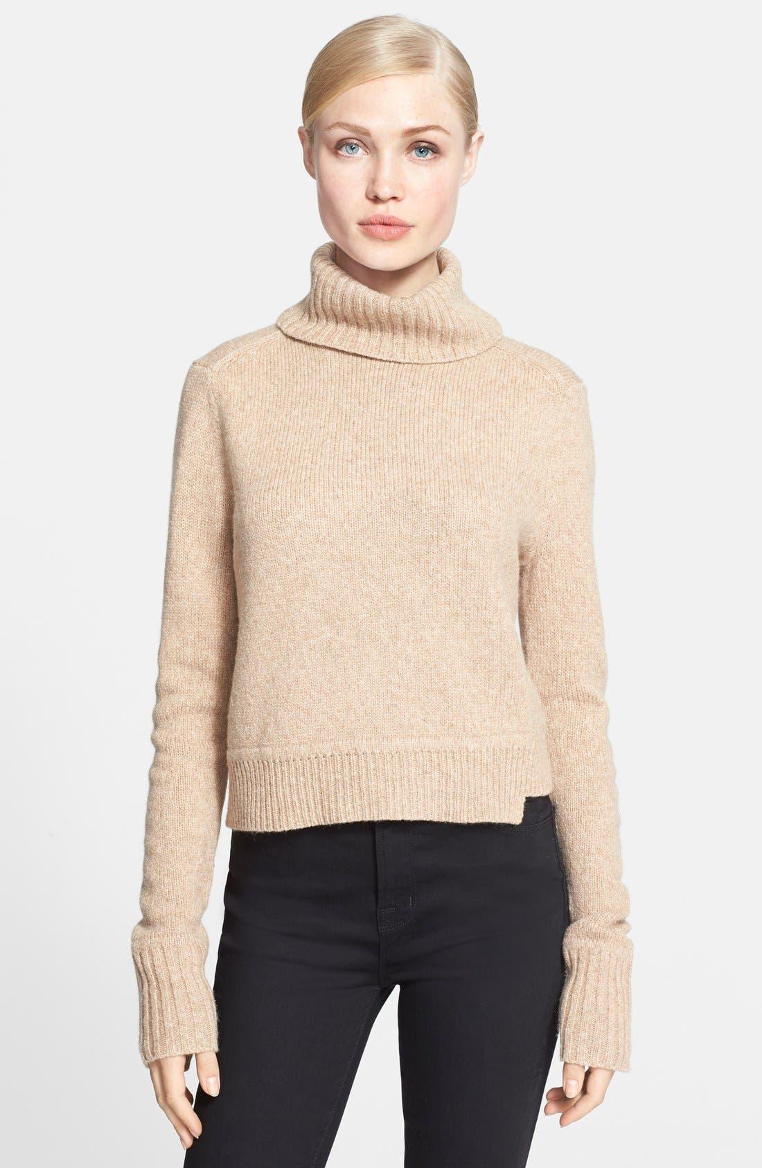 Alternate Image 1 Selected - A.L.C. 'Tevin' Turtleneck Sweater