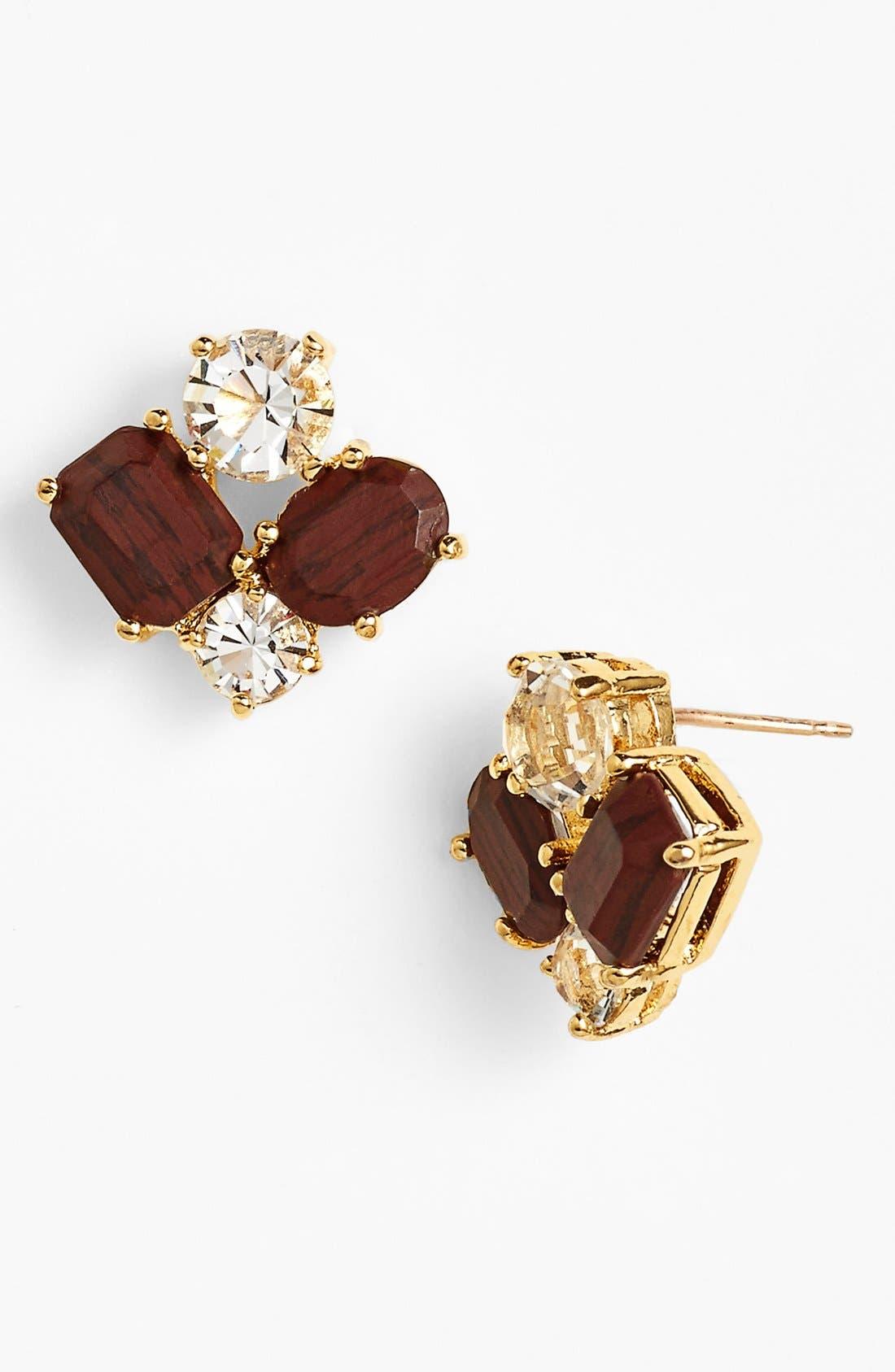 Alternate Image 1 Selected - kate spade new york cluster earrings