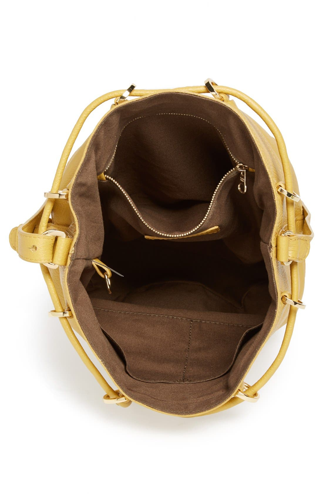Alternate Image 3  - See by Chloé 'Small Vicki' Leather Bucket Bag