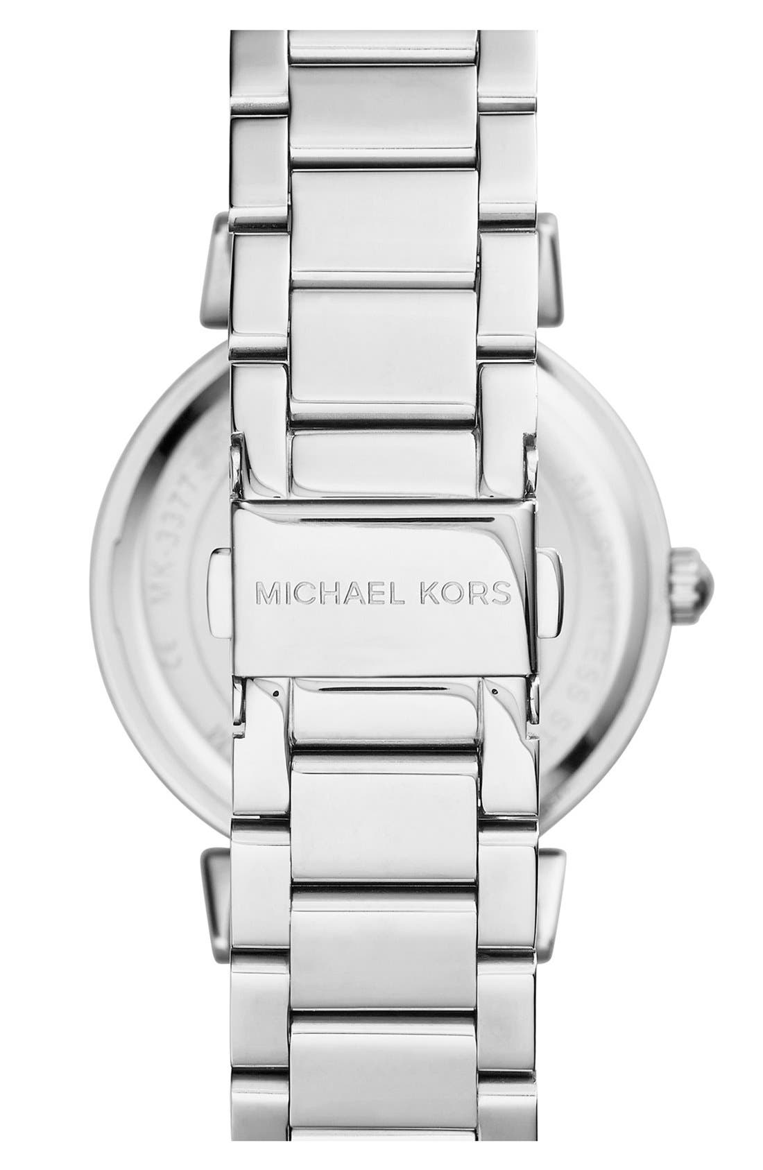 Alternate Image 2  - Michael Kors 'Caitlin' Crystal Dial Bracelet Watch, 38mm