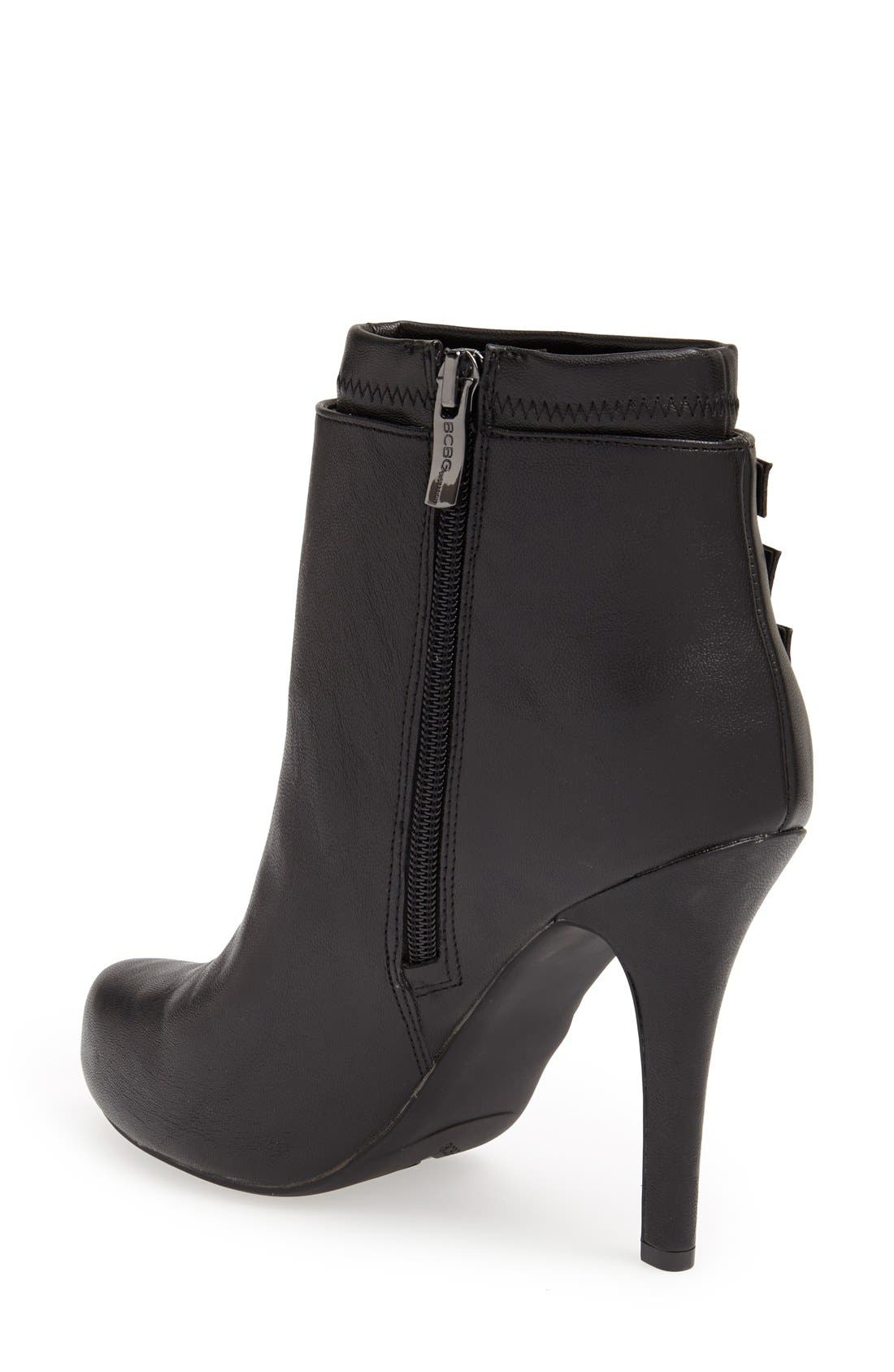 Alternate Image 2  - BCBGeneration 'Fame' Pointy Toe Platform Bootie (Women)