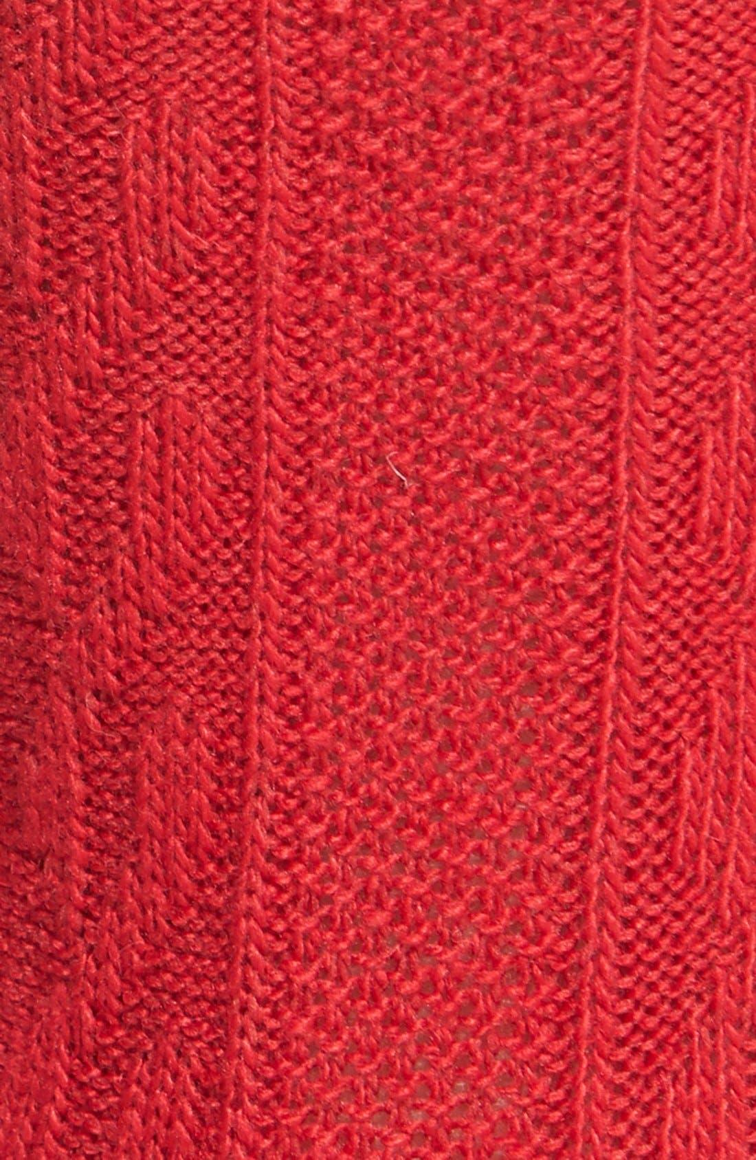 Alternate Image 2  - Ralph Lauren Cable Knit Trouser Socks