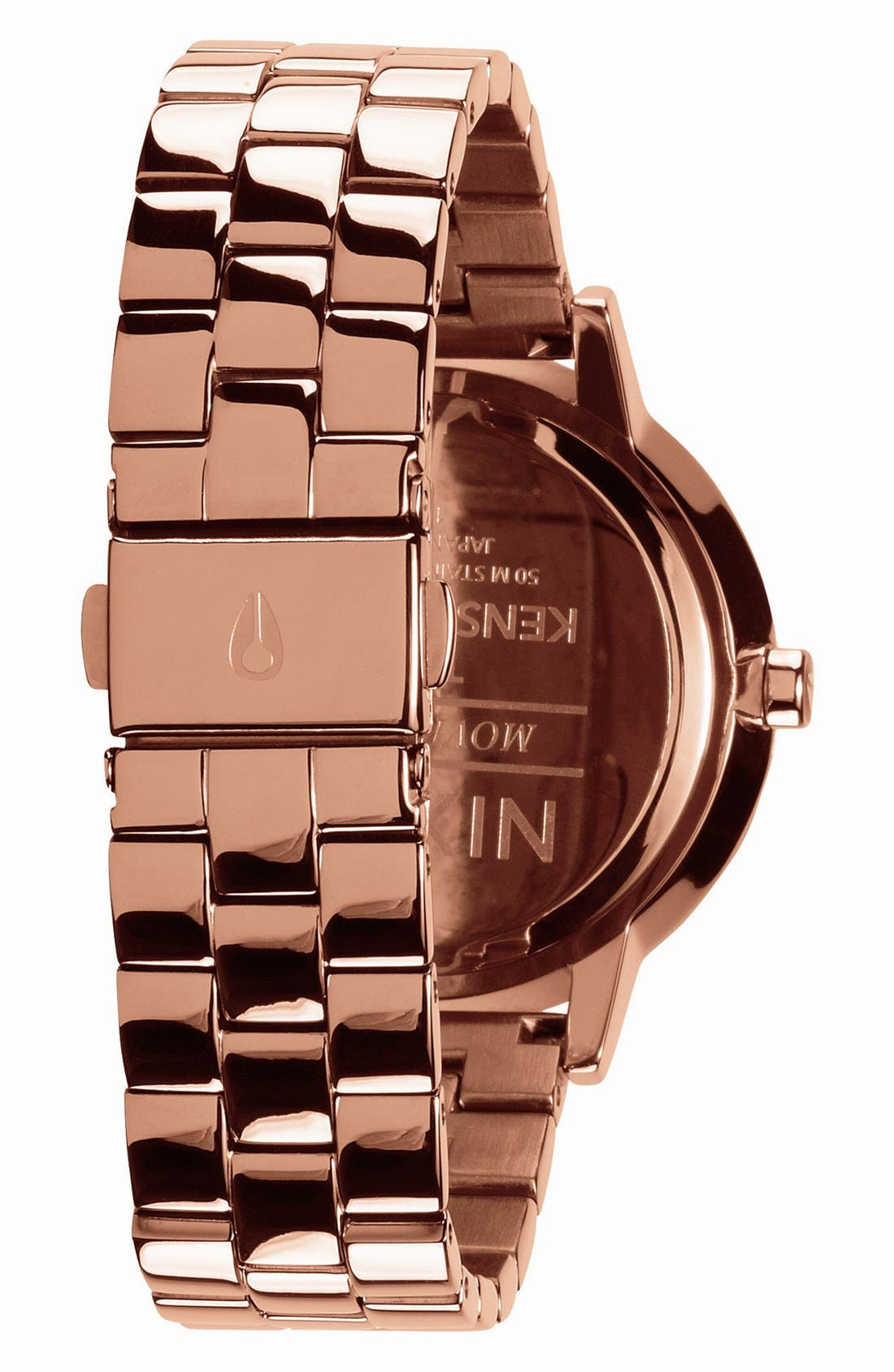 Alternate Image 2  - Nixon 'The Kensington' Bracelet Watch, 37mm