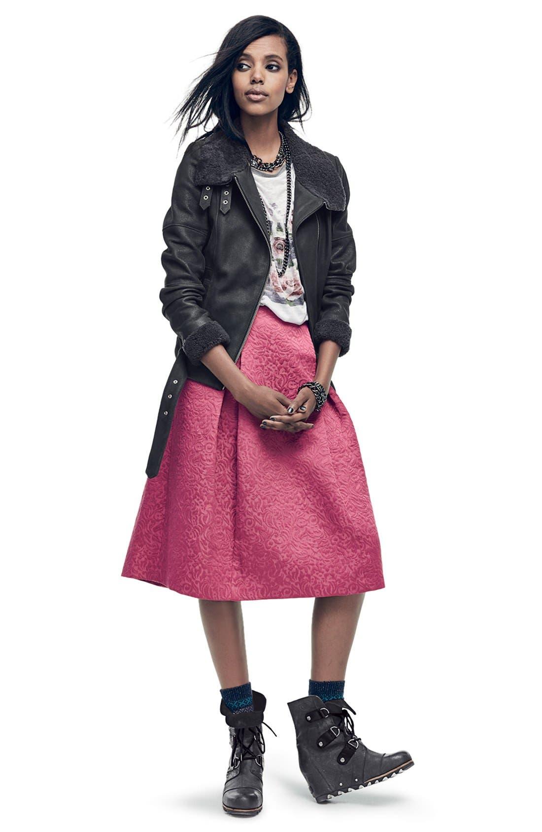 Full Pleat Skirt,                             Alternate thumbnail 6, color,