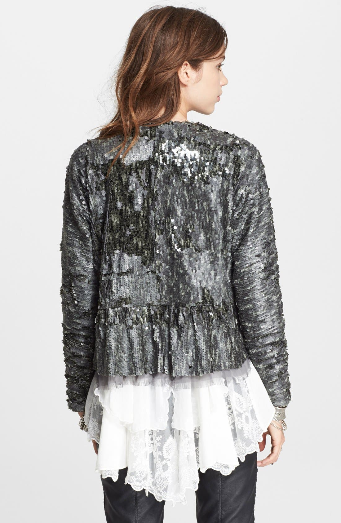 Alternate Image 2  - Free People Sequin Party Jacket