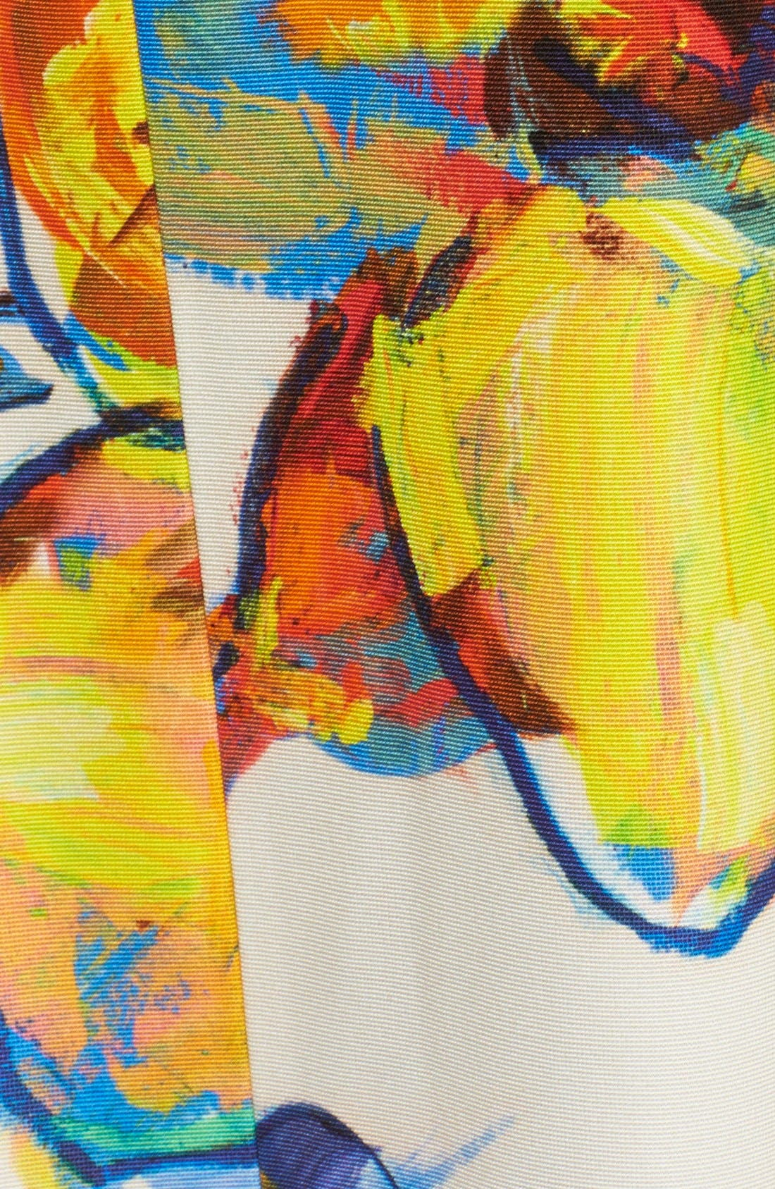 Alternate Image 3  - Milly 'Luna' Floral Print Pleated Midi Skirt