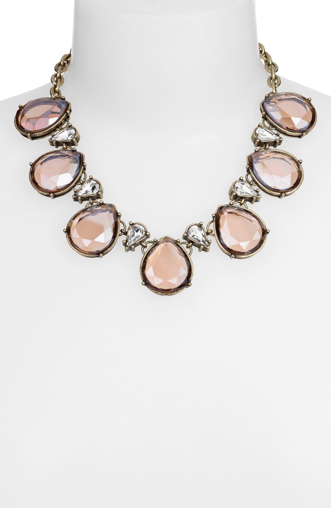 Alternate Image 2  - Robert Rose Tear Drop Collar Necklace