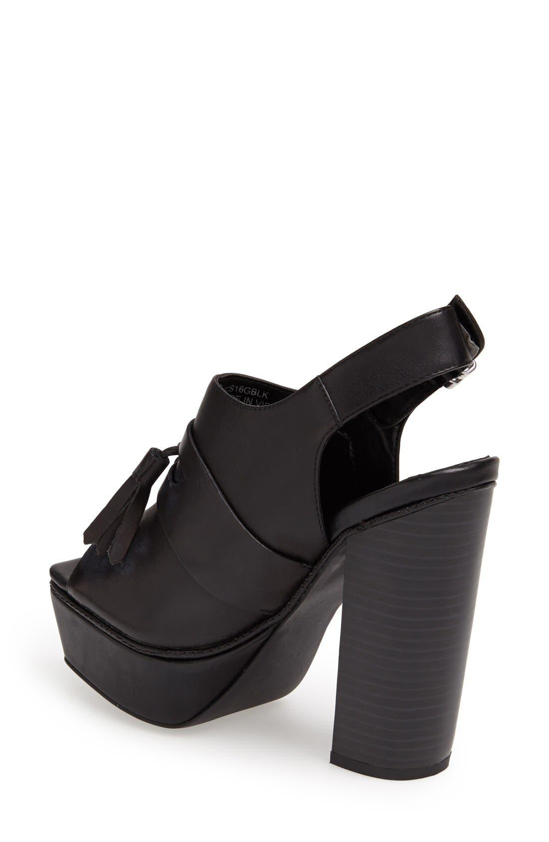 Alternate Image 2  - Topshop 'Sassy' Platform Sandal