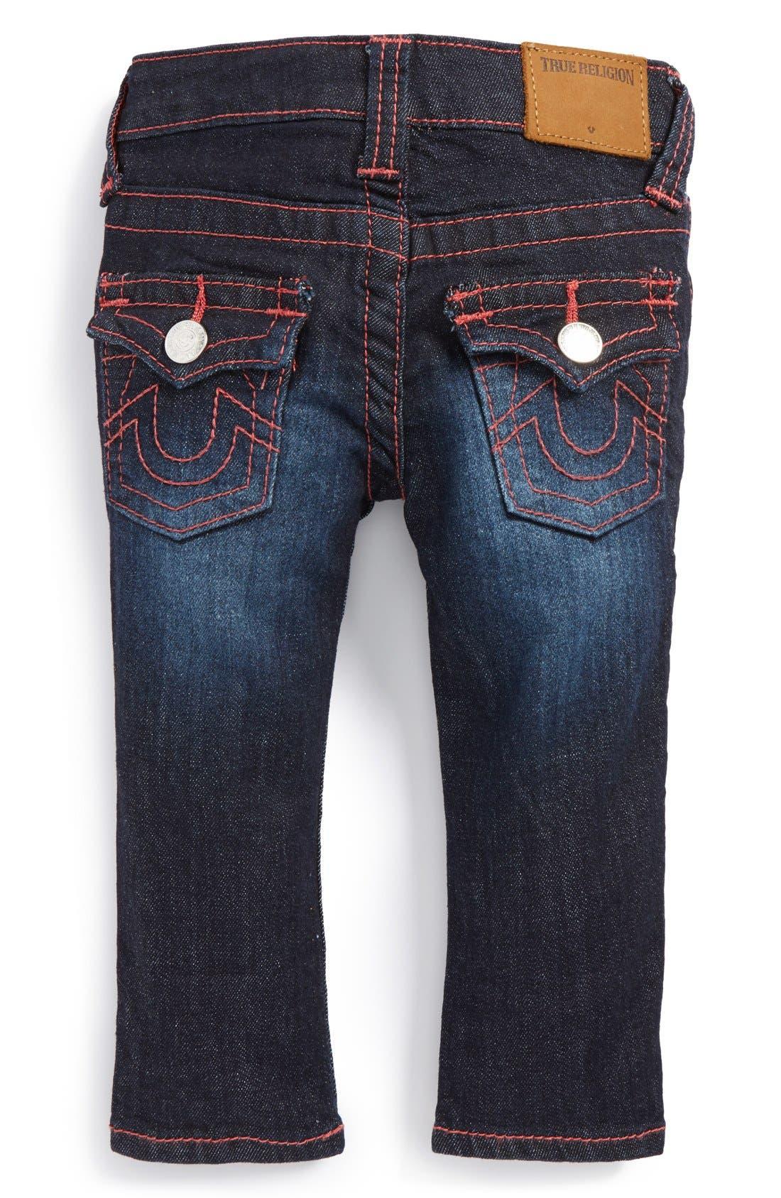 'Stella' Skinny Jeans,                             Alternate thumbnail 2, color,                             Rinse