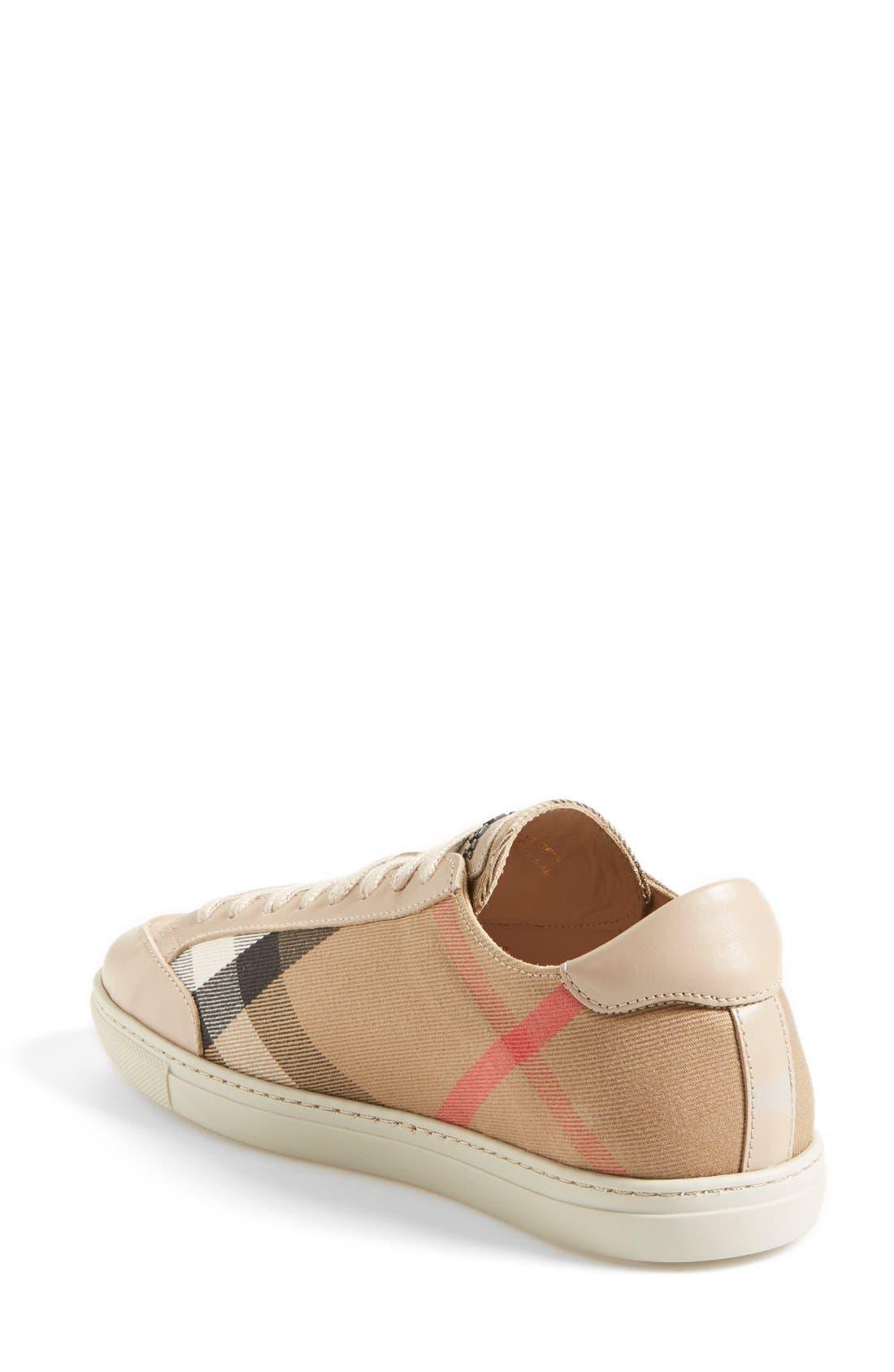 Alternate Image 2  - Burberry 'Hartfields' Sneaker (Women)