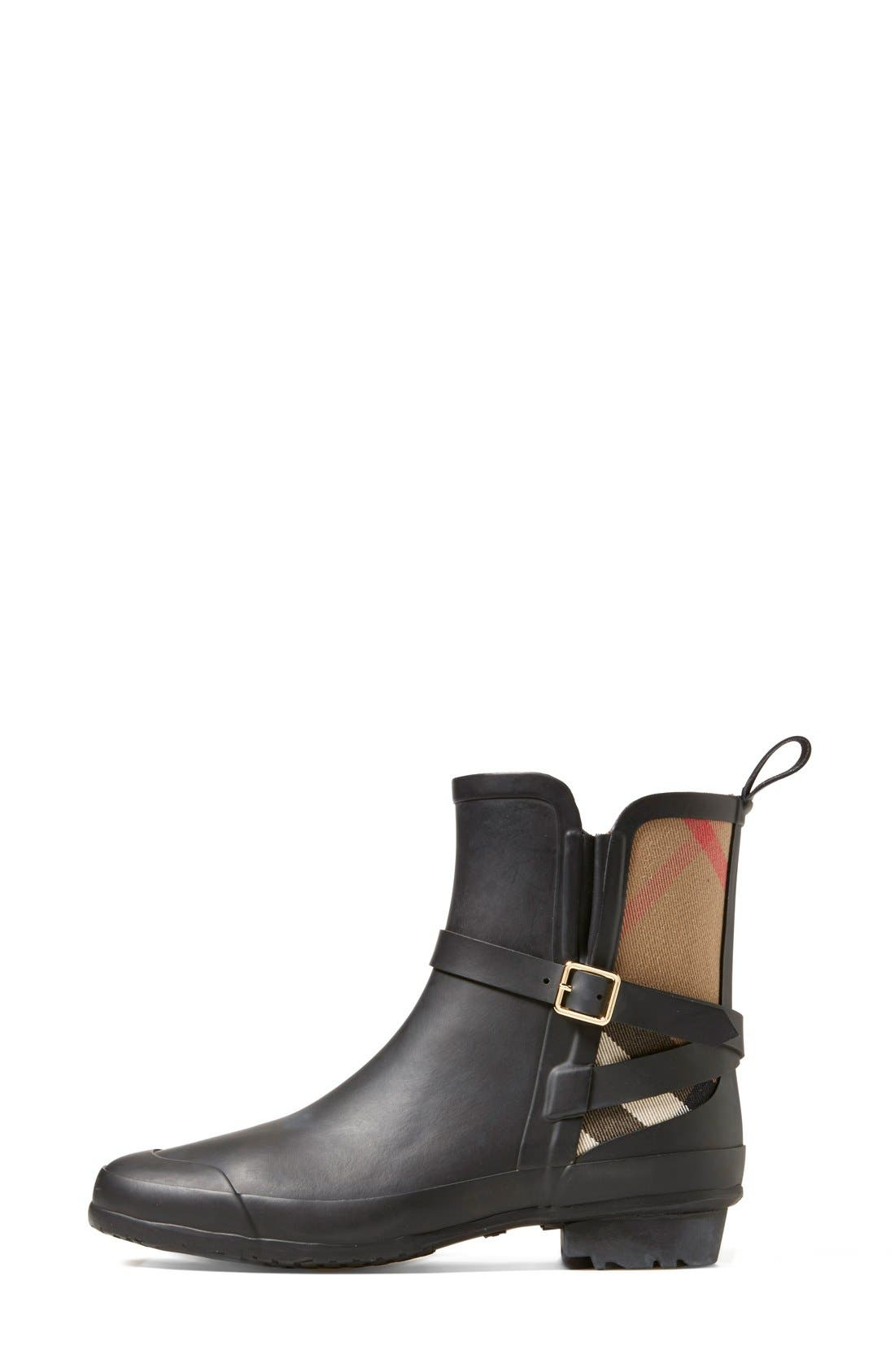 Alternate Image 4  - Burberry 'Riddlestone' Rain Boot (Women)