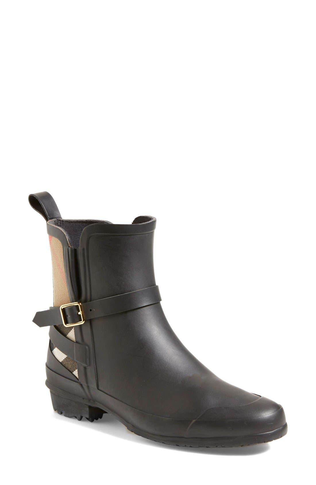 Alternate Image 1 Selected - Burberry 'Riddlestone' Rain Boot (Women)