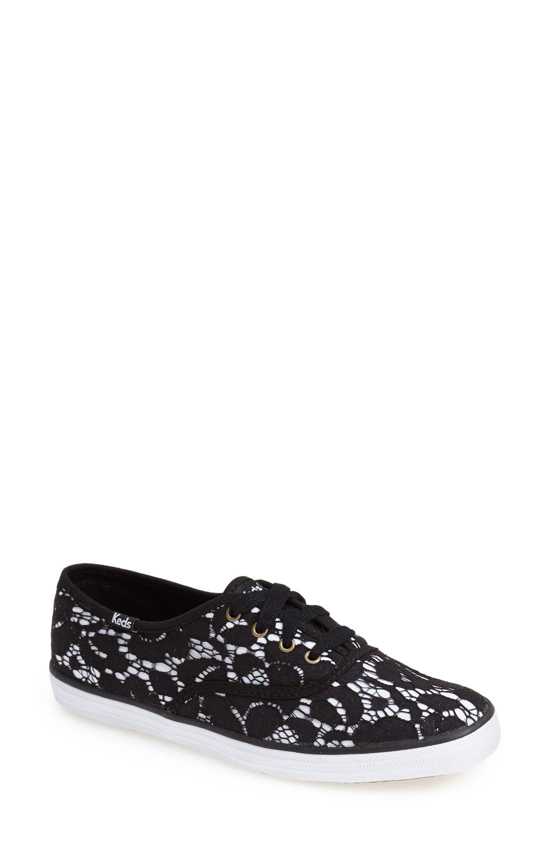 Alternate Image 1 Selected - Keds® Taylor Swift 'Lace' Champion Sneaker (Women)