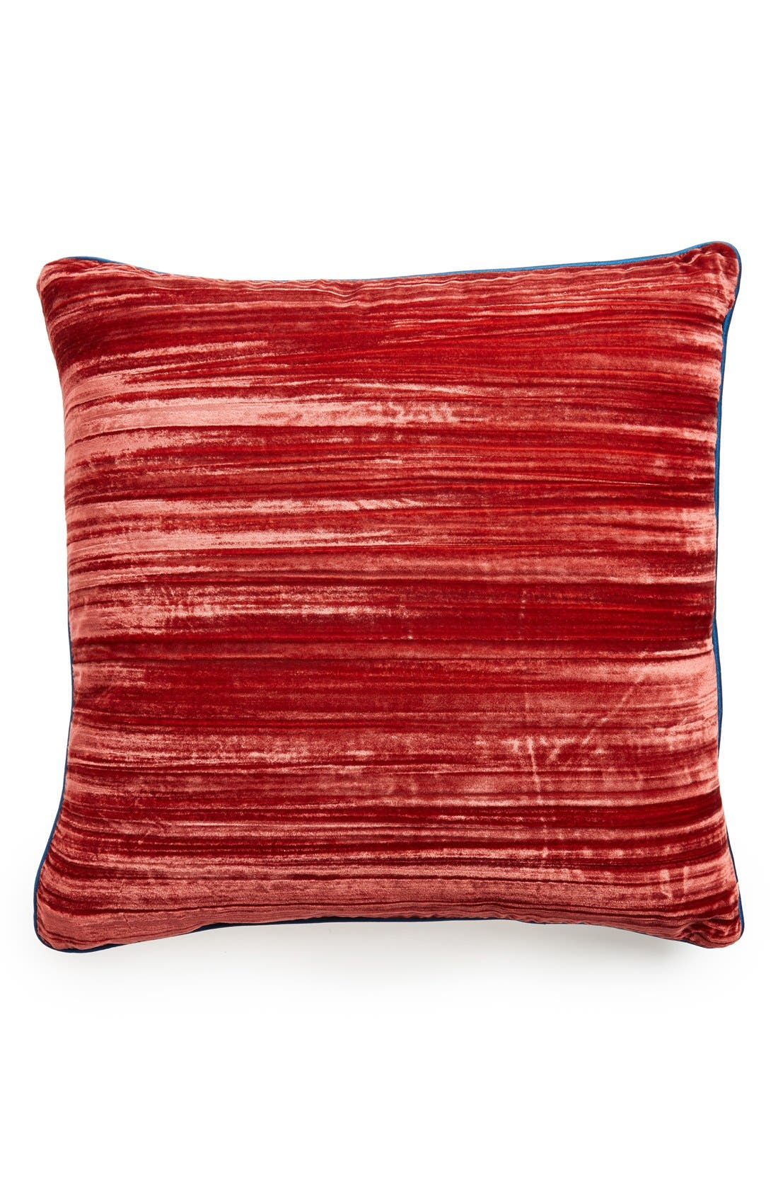 Alternate Image 1 Selected - Tracy Porter® For Poetic Wanderlust® 'Coral' Velvet Pillow