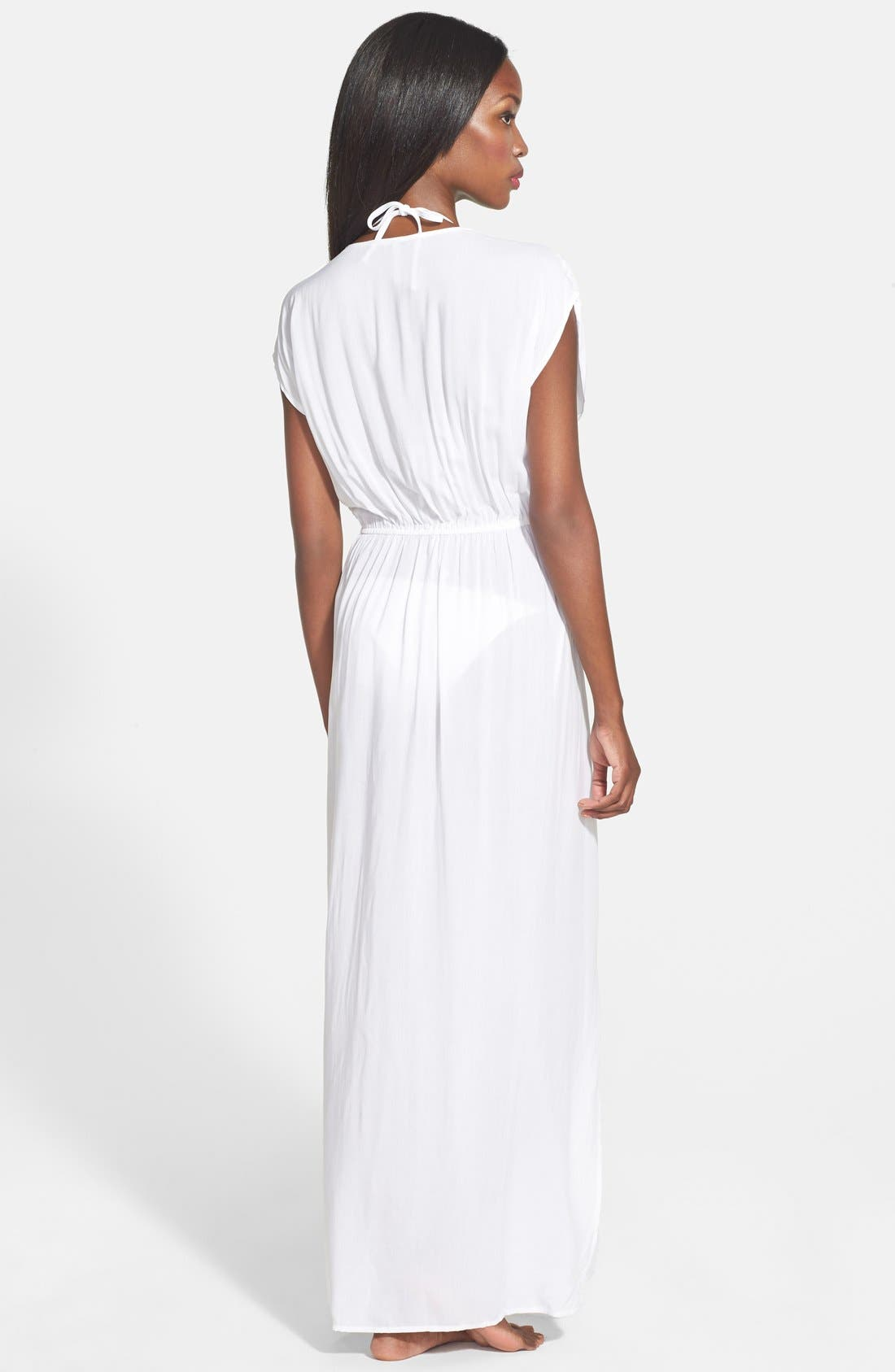 45e071570db white maxi dress