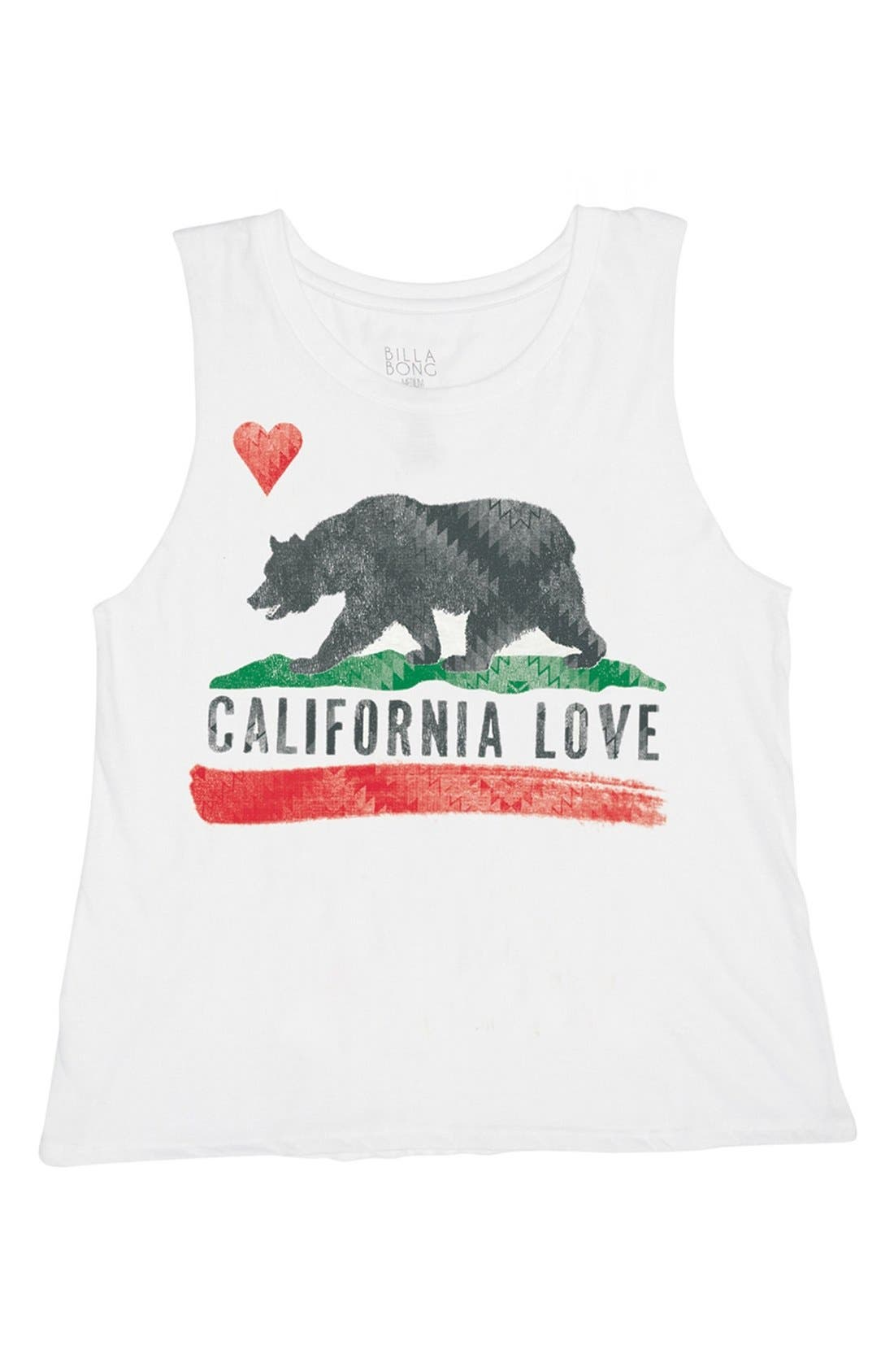 Main Image - Billabong 'Bears Republic' Graphic Muscle Tee