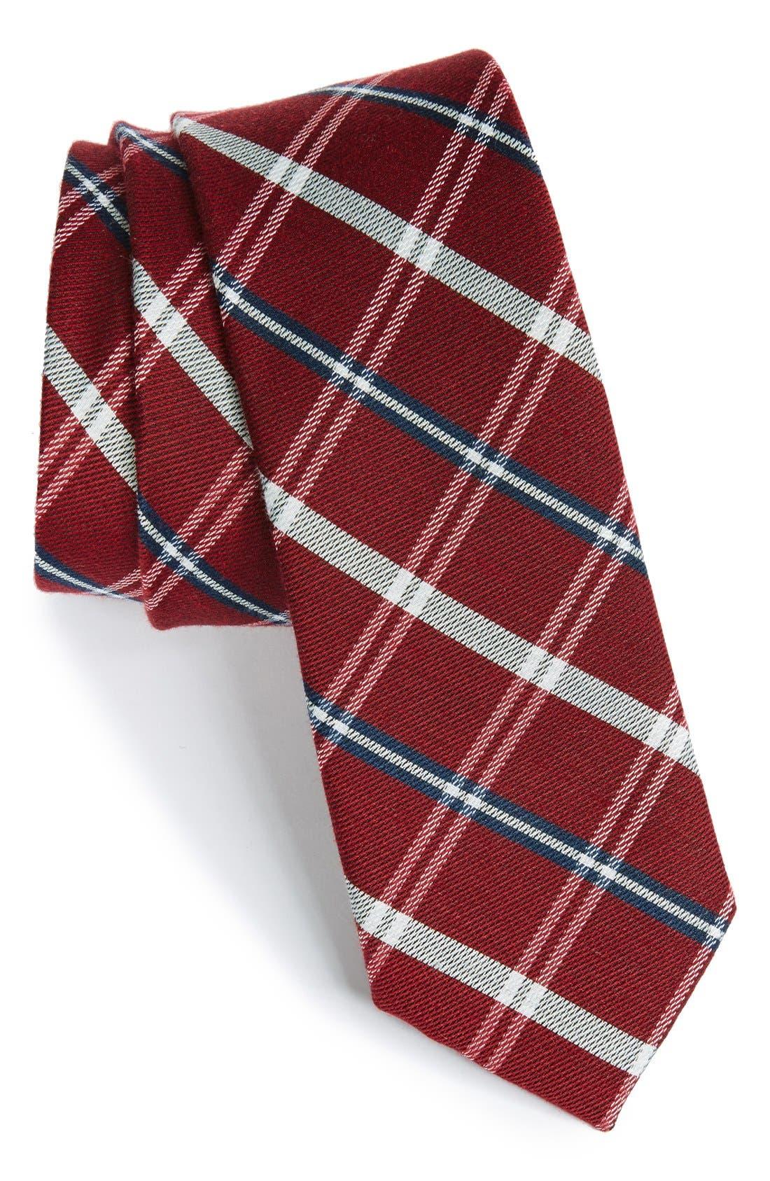 Alternate Image 1 Selected - 1901 'Logan' Plaid Tie