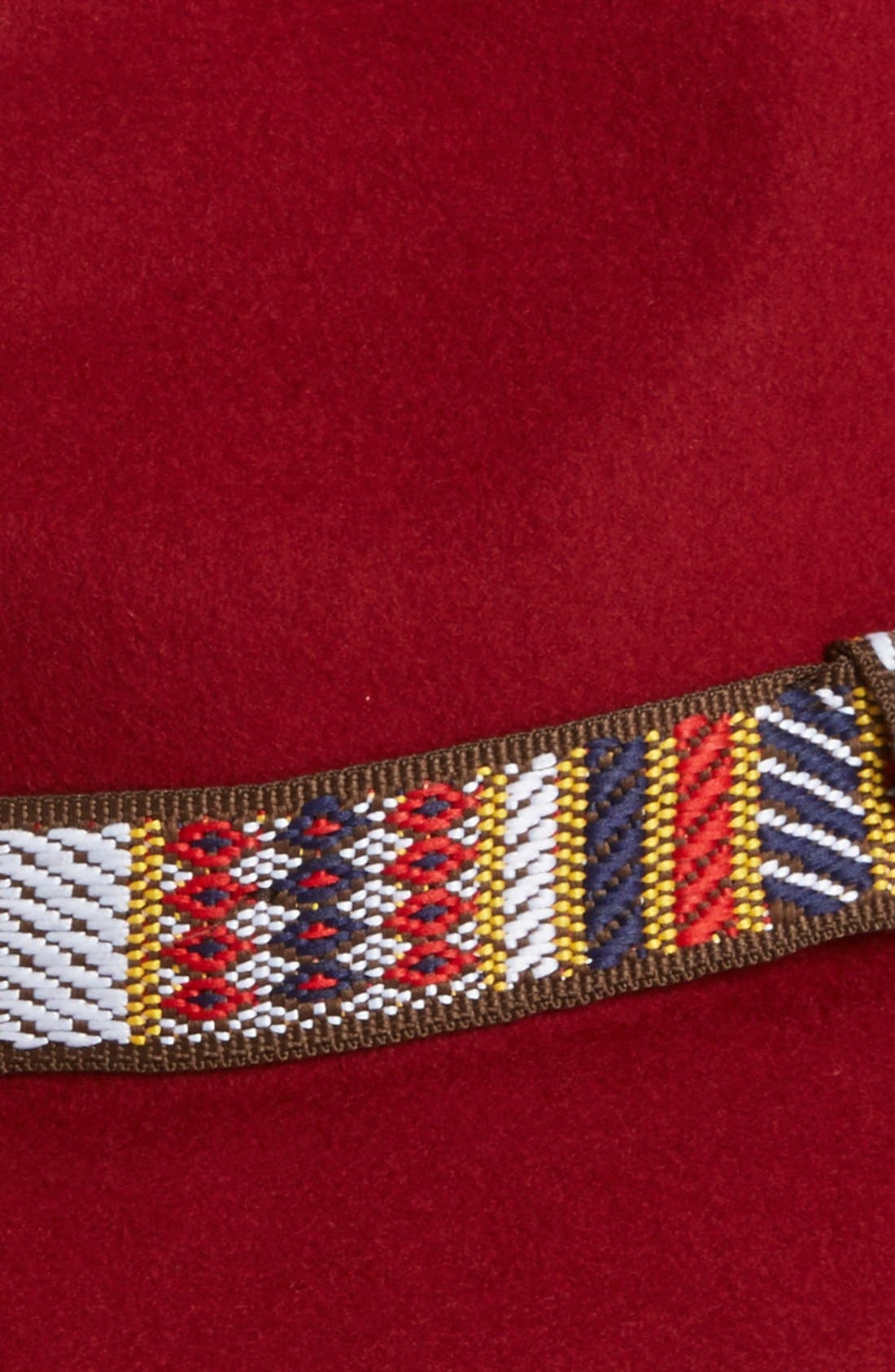 Alternate Image 2  - Sole Society Wide Brim Wool Fedora