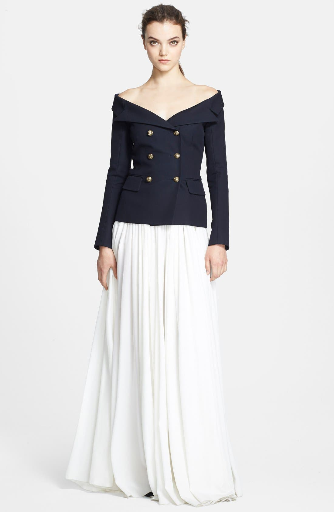 Alternate Image 3  - Faith Connexion 'Serge' Off Shoulder Wool Jacket
