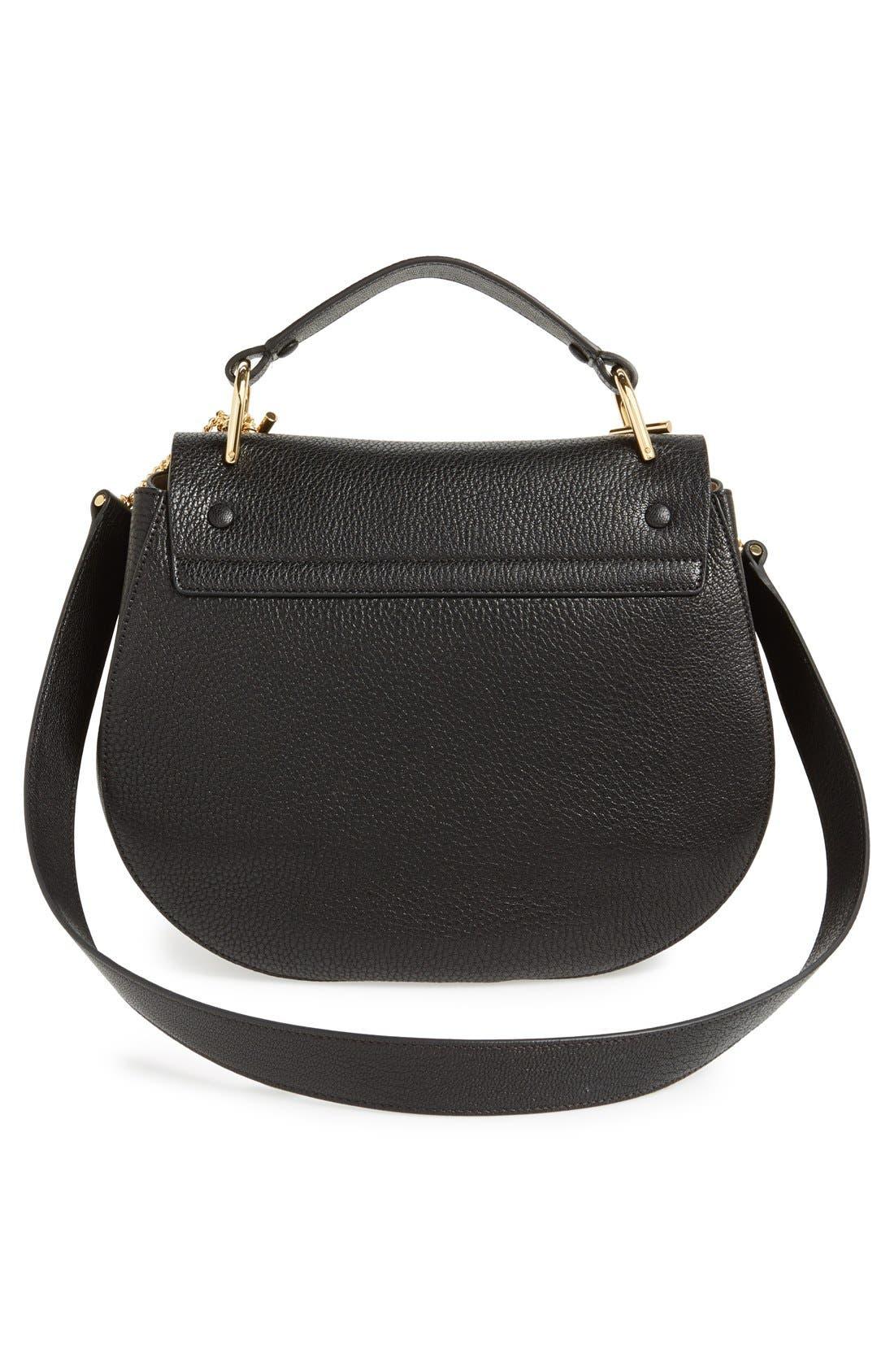 Alternate Image 4  - Chloé 'Drew - Medium' Leather Crossbody Bag