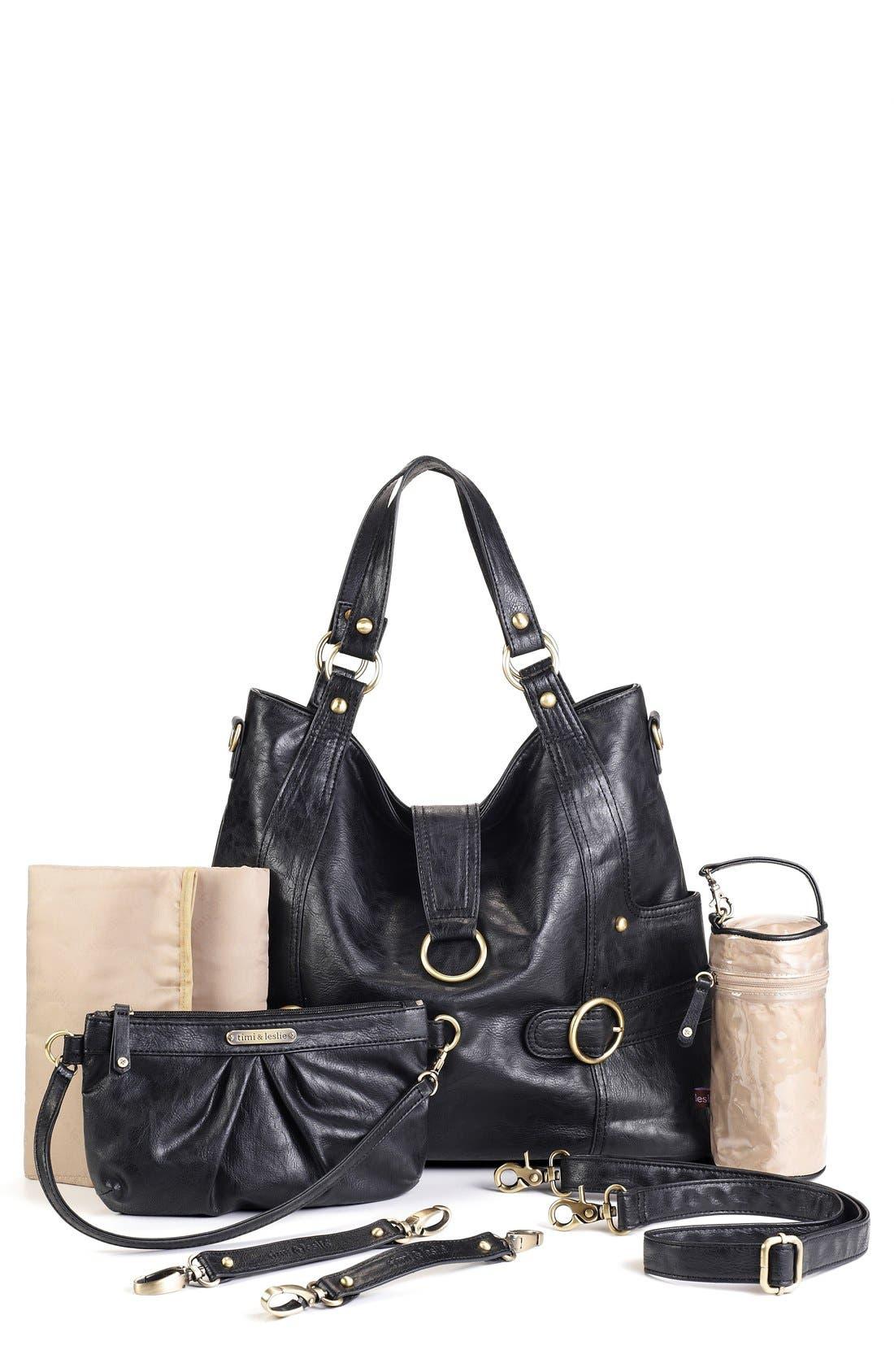 Alternate Image 1 Selected - Timi & Leslie 'Hannah' Diaper Bag