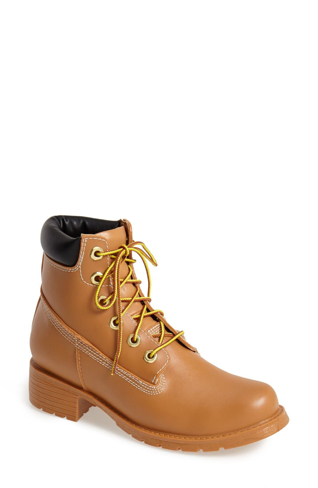 Alternate Image 1 Selected - Jeffrey Campbell 'Deluge' Water Resistant Military Boot (Women)
