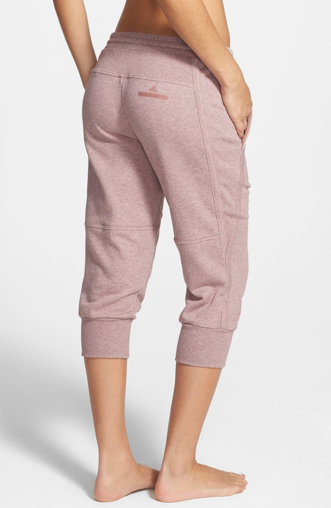 Alternate Image 2  - adidas by Stella McCartney 'Essentials' Capris Sweatpants