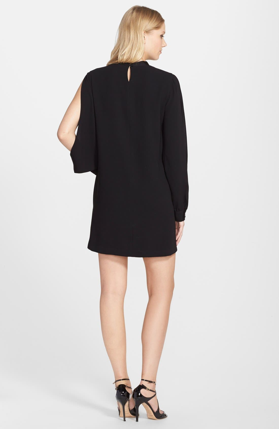 Alternate Image 2  - BCBGMAXAZRIA 'Irena' Embellished Cutout A-Line Dress