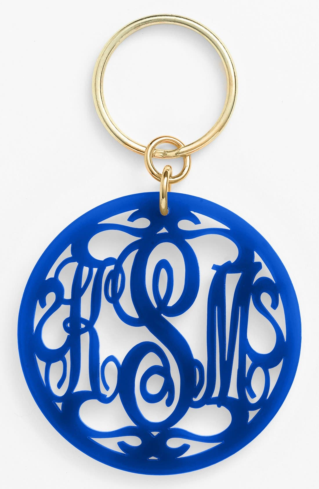 Moon and Lola Personalized Monogram Key Chain