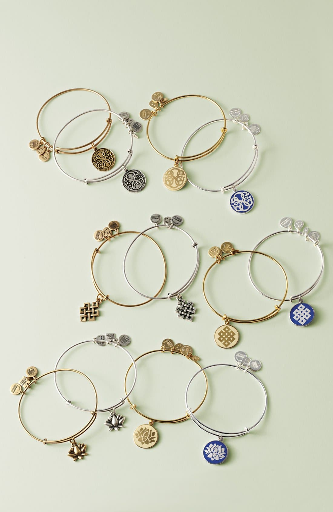 Alternate Image 2  - Alex and Ani 'Endless Knot' Expandable Wire Bangle